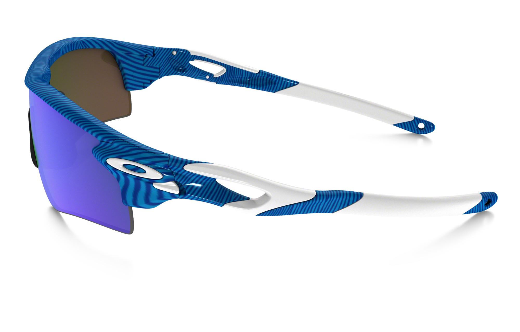 Paire Bleusapphire Lunettes Oakley Path Iridium Oo9181 Fingerprint Réf Radarlock 46 De P0wn8kO