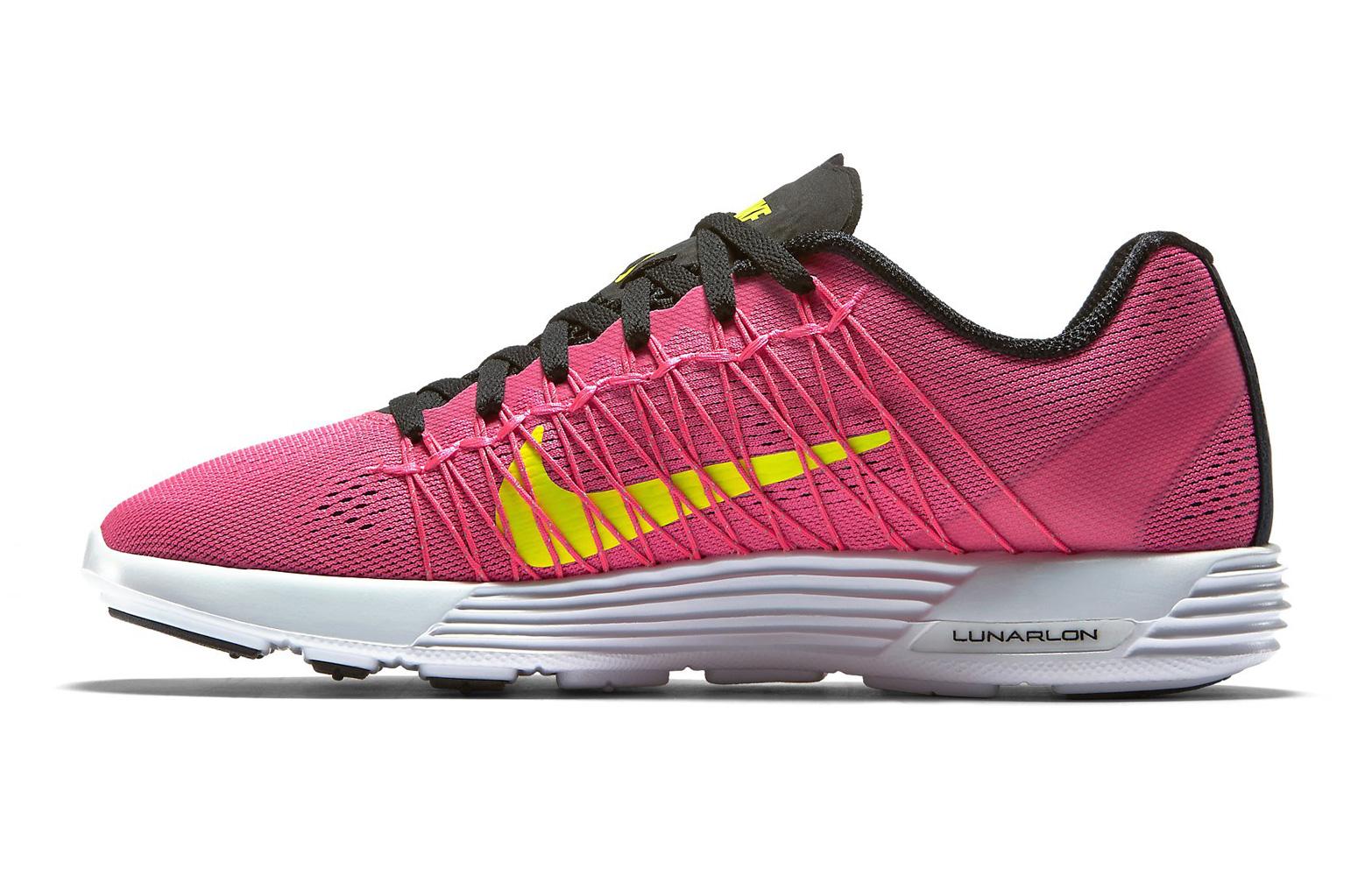 nike shoes lunaracer 3 pink yellow alltricks