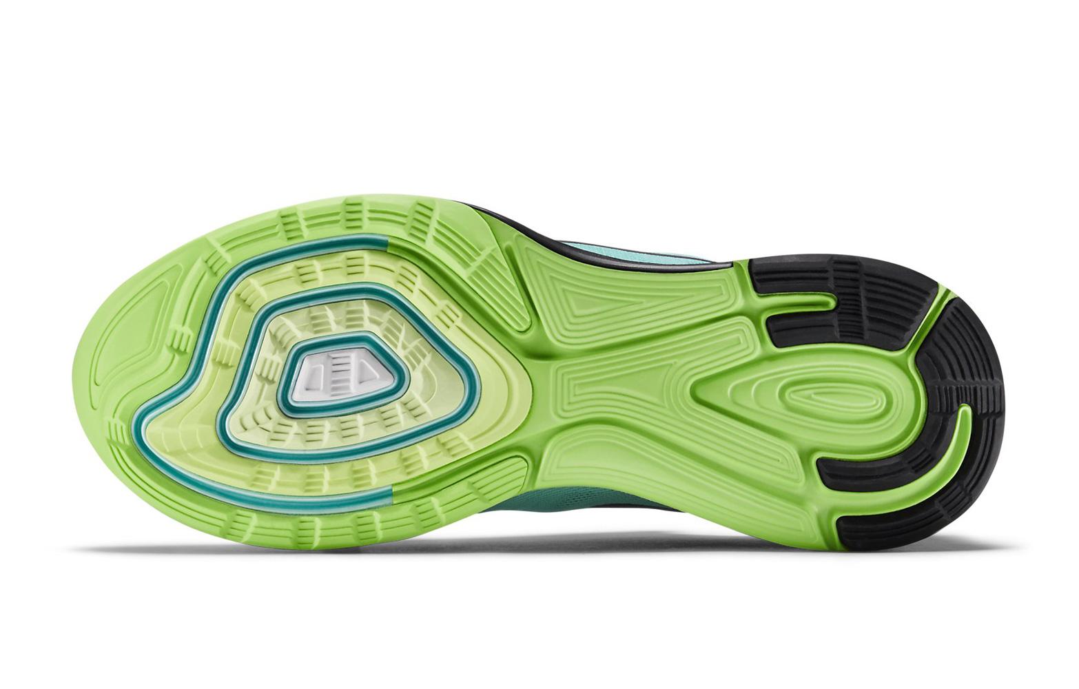 Nike Lunarglide 6 Azul Y Verde NEC5HU