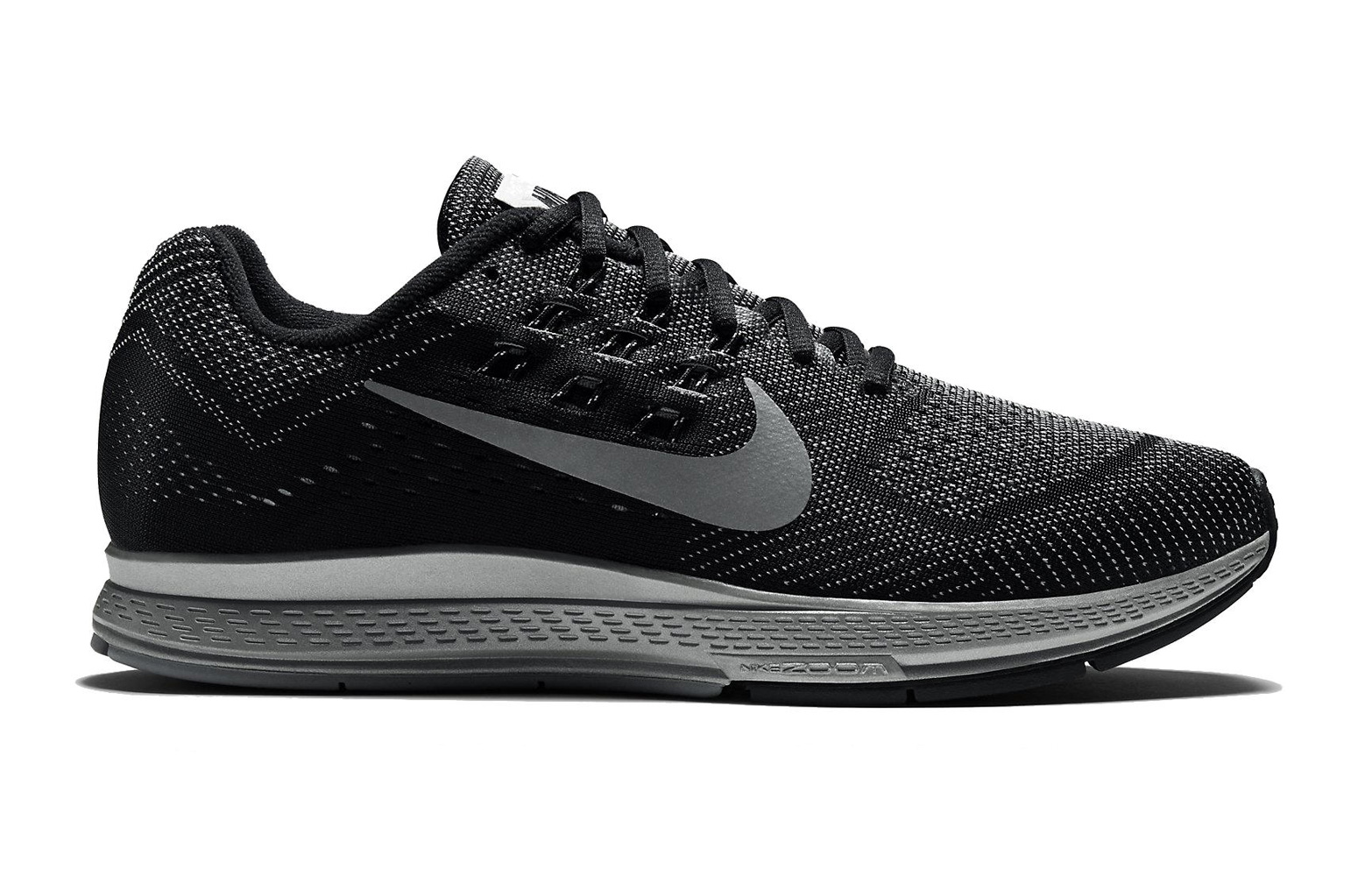 taille 40 3ad48 9c654 NIKE Chaussure ZOOM STRUCTURE+ 18 Noir Flash Homme