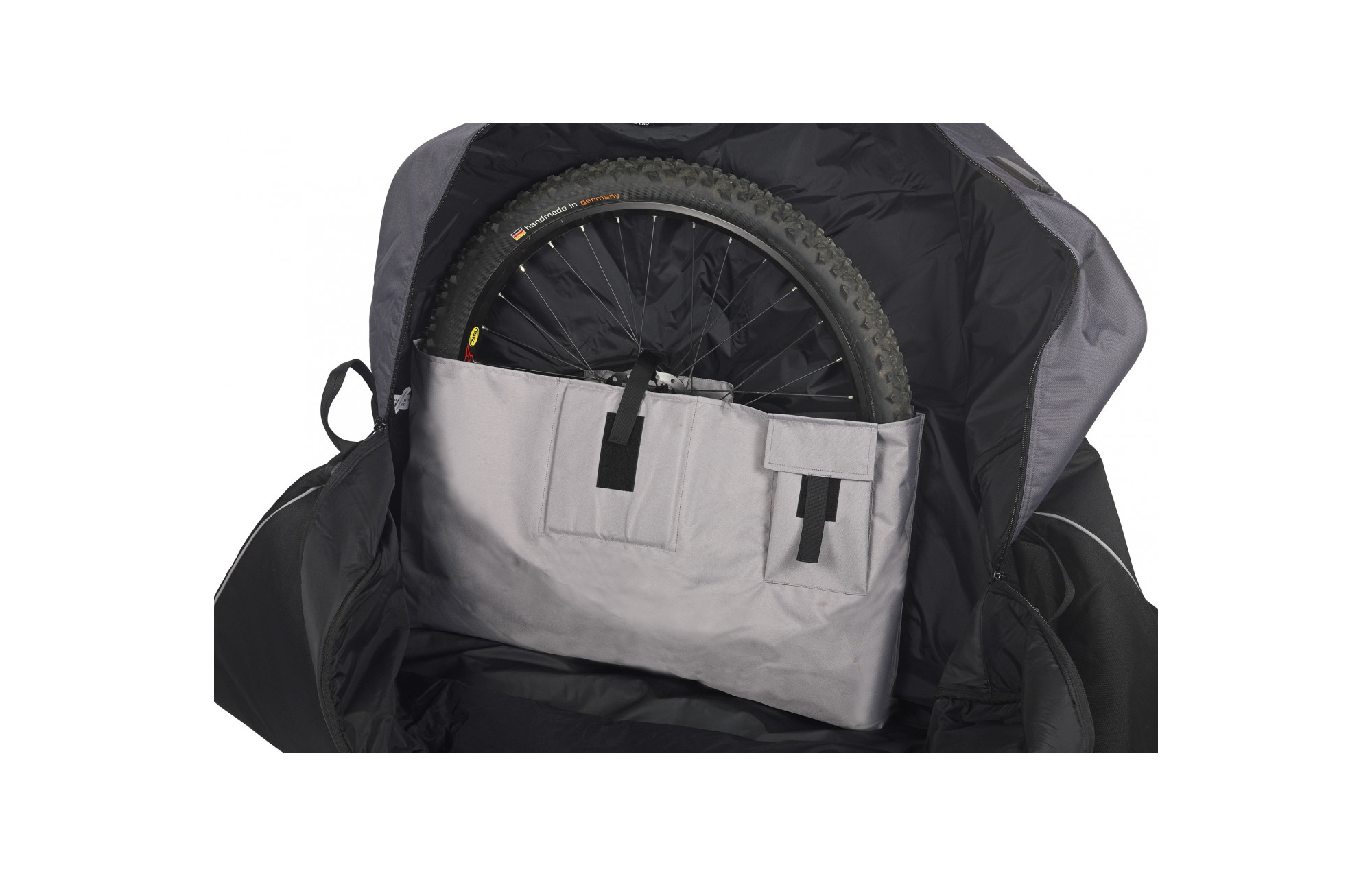Vaude housse de transport v lo big bike bag noir for Housse transport velo scicon