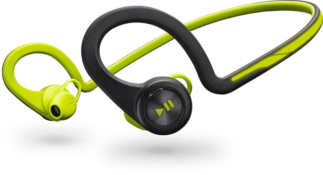 Casque Bluetooth Plantronics Backbeat Fit Noir Vert Alltricksfr