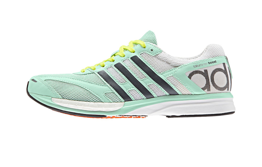 1183d0e18 Adidas Adizero Takumi Ren Womens Running Shoes - White Pastel Green ...