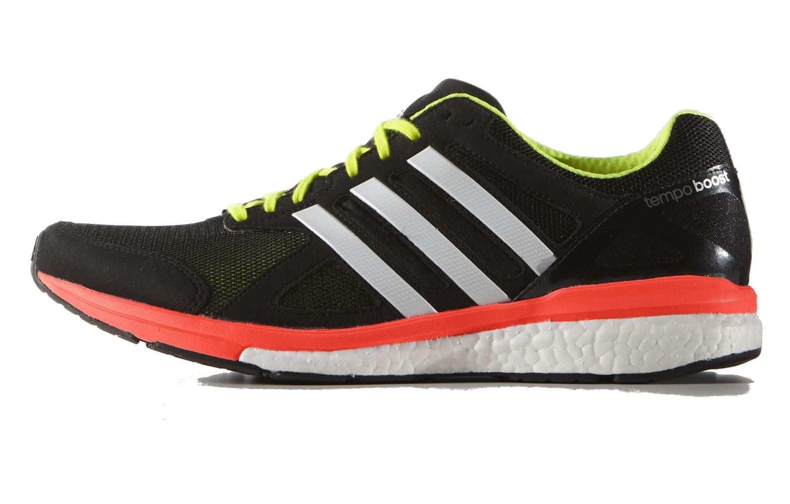 8e47f3b093c Adidas Adizero Tempo Boost 7 Mens Running Shoes - Black Orange ...