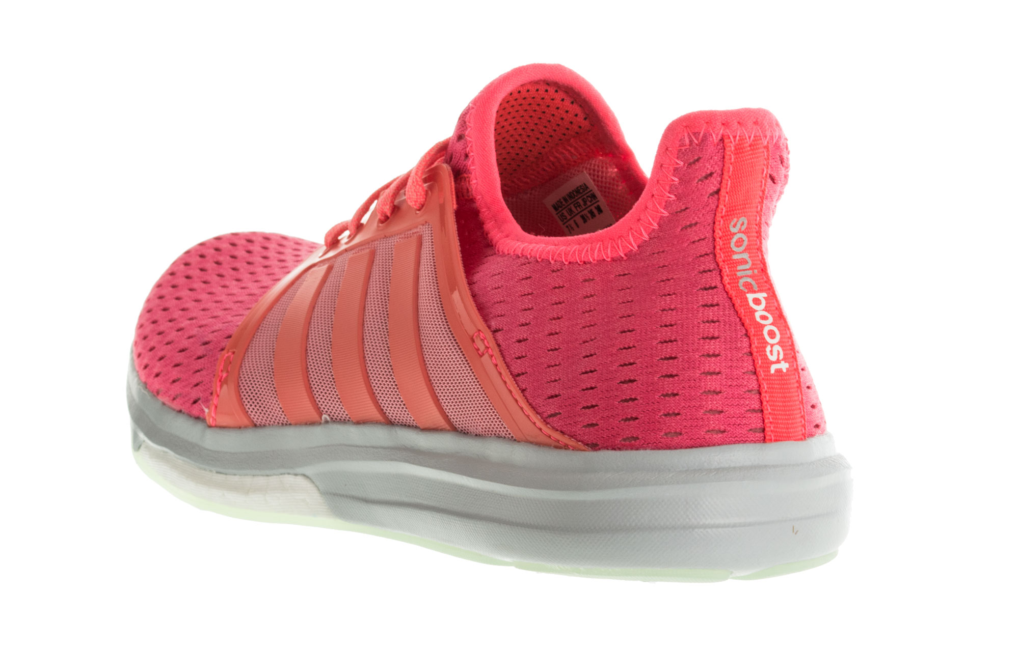 buy popular dc127 fed95 Adidas Climachill Sonic Boost Womens Running Shoes - Pink