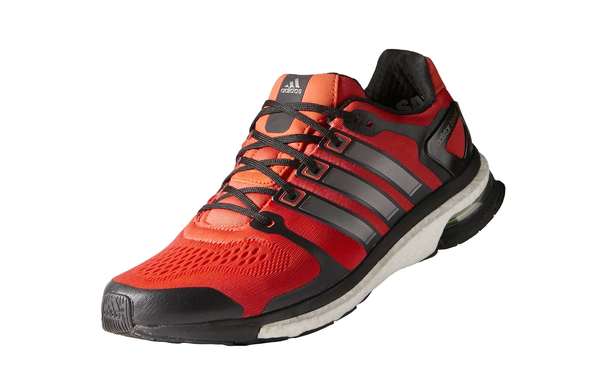 the best attitude 2a904 423f3 Zapatillas Adidas Adistar Boost ESM Hombre Negro Rojo