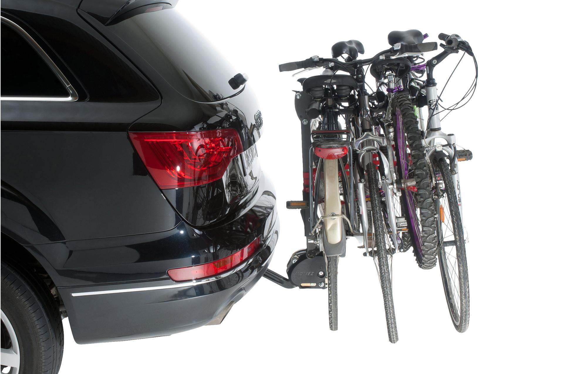 MOTTEZ Porte Vélos Attelage HERCULE 4 Vélos