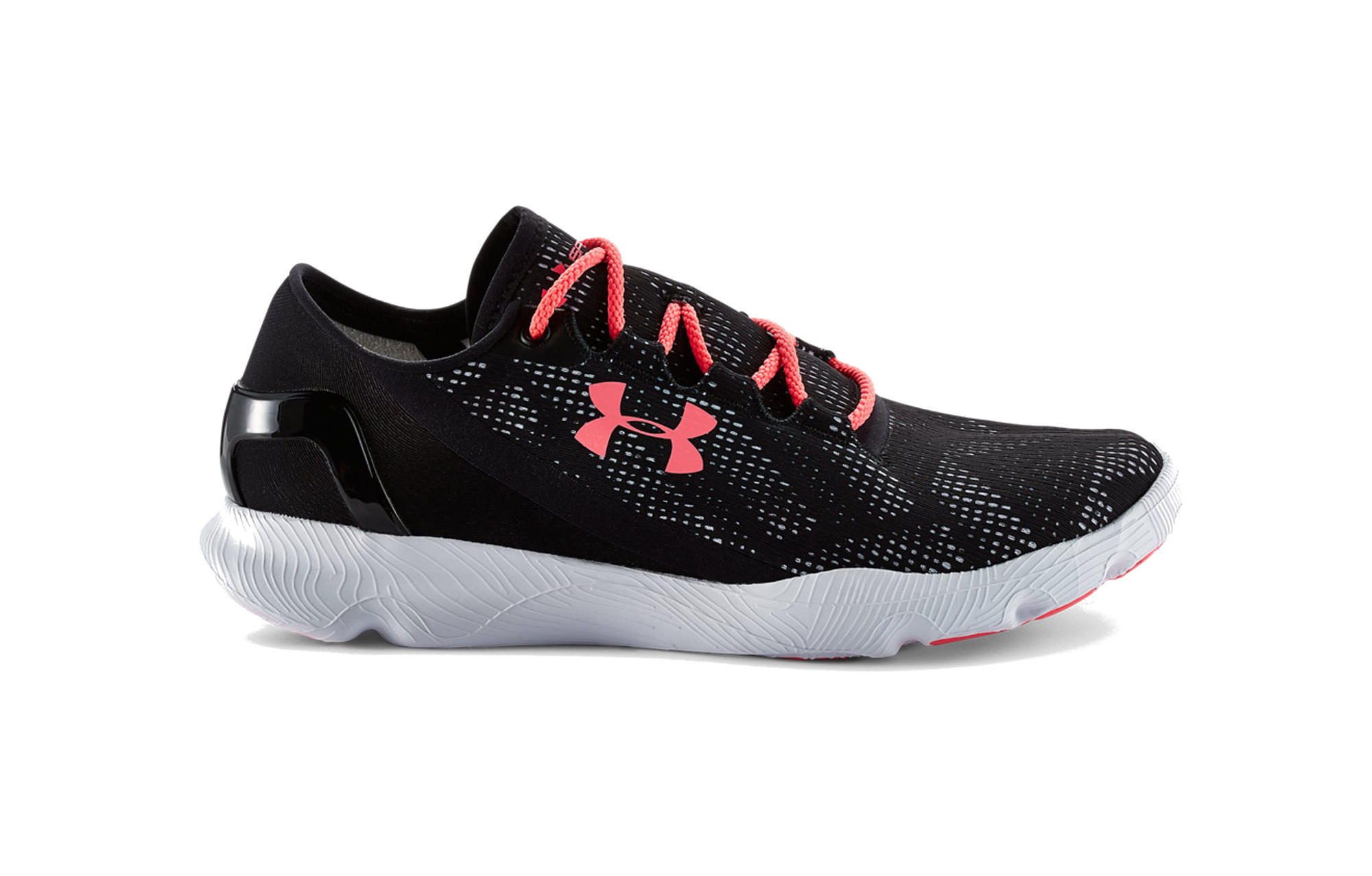 the latest ff020 dd492 UNDER ARMOUR SPEEDFORM APOLLO VENT Pair of Shoes Black Pink Women ...