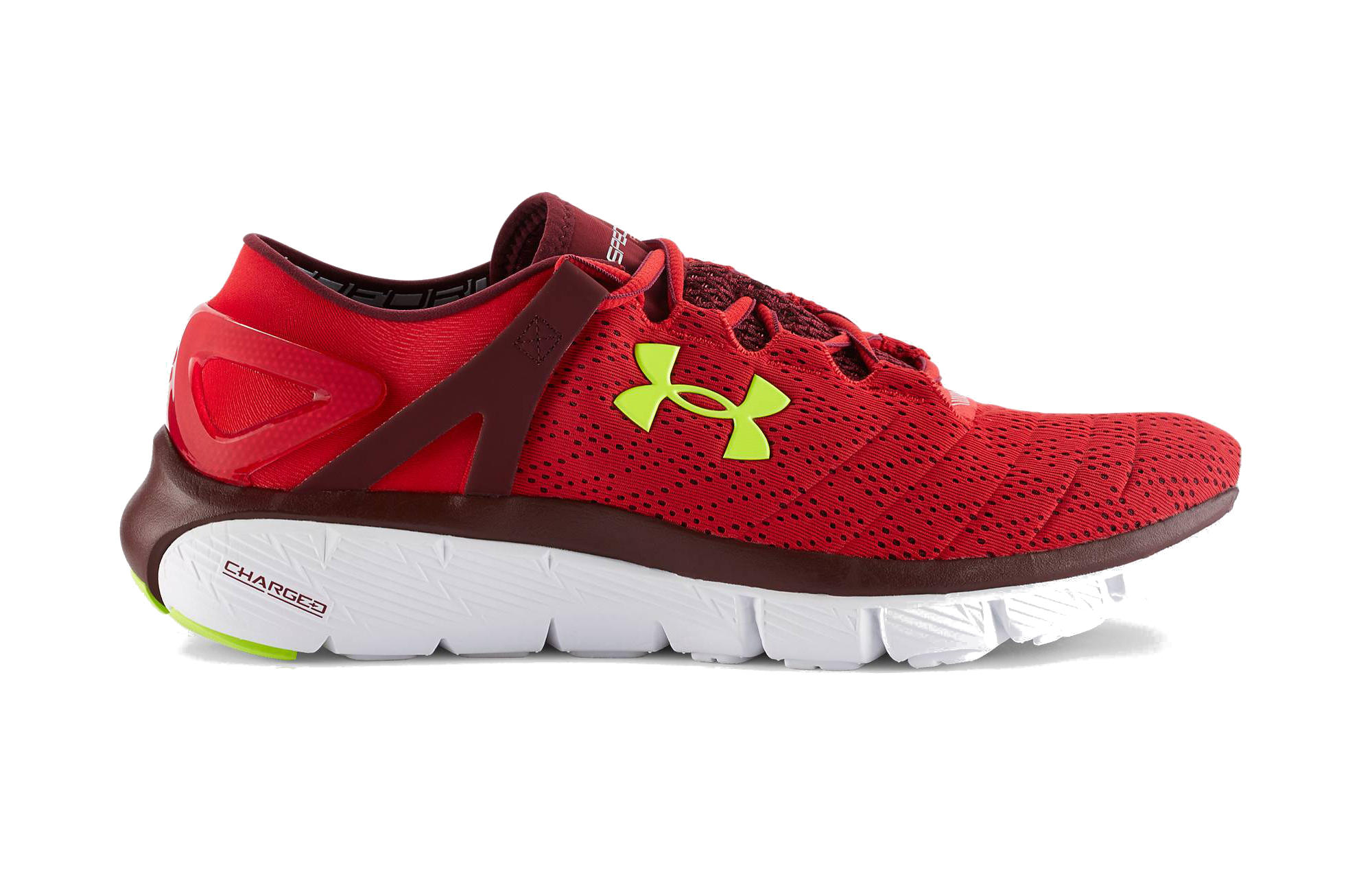 e22189f4a Under Armour SpeedForm Fortis Mens Running Shoes - Red