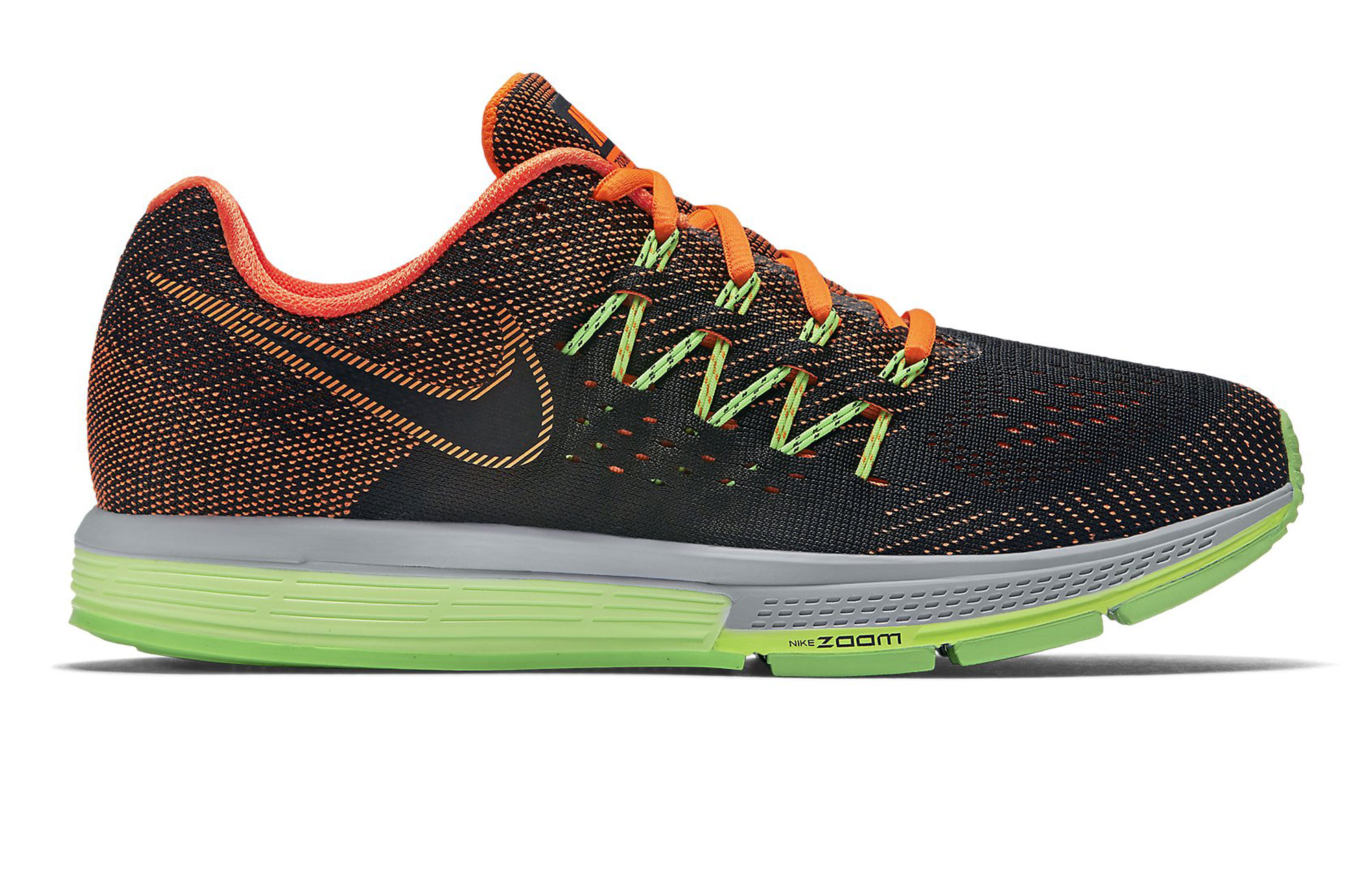 NIKE Shoes AIR ZOOM VOMERO 10 Orange Green Men