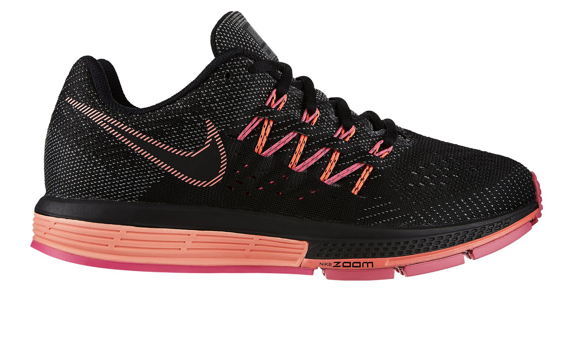 chaussures de running femme nike air zoom vomero 10 noir. Black Bedroom Furniture Sets. Home Design Ideas