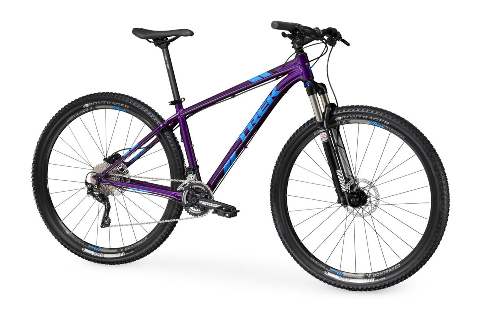 trek x caliber 9 hardtail bike purple 2016. Black Bedroom Furniture Sets. Home Design Ideas