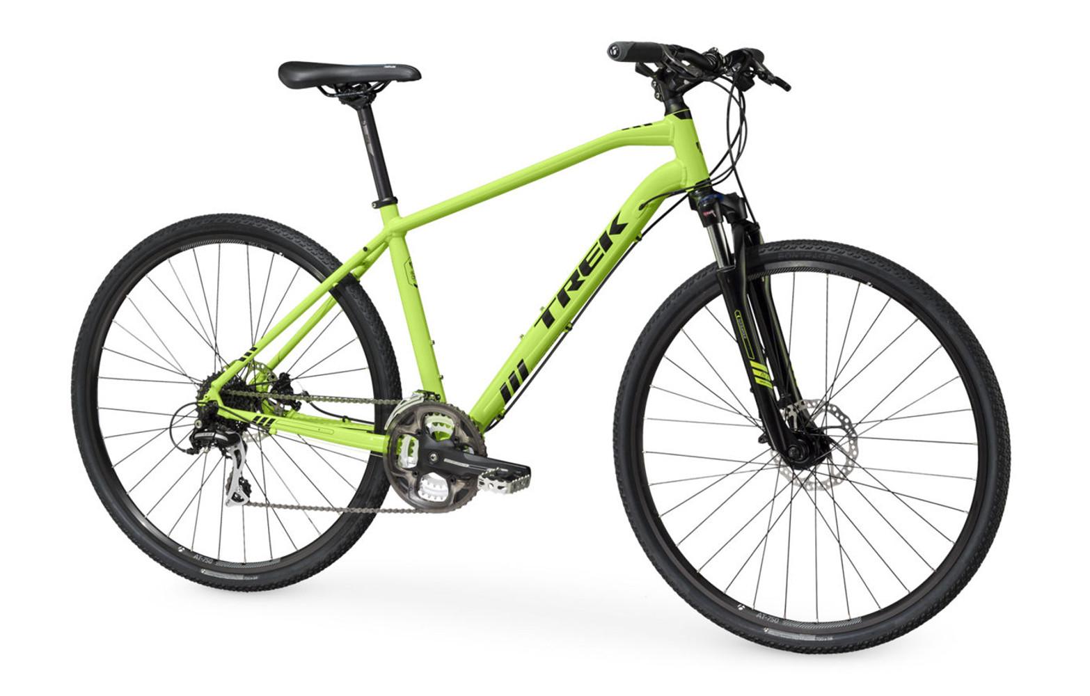 trek 8 3 ds hybrid bike green 2016. Black Bedroom Furniture Sets. Home Design Ideas