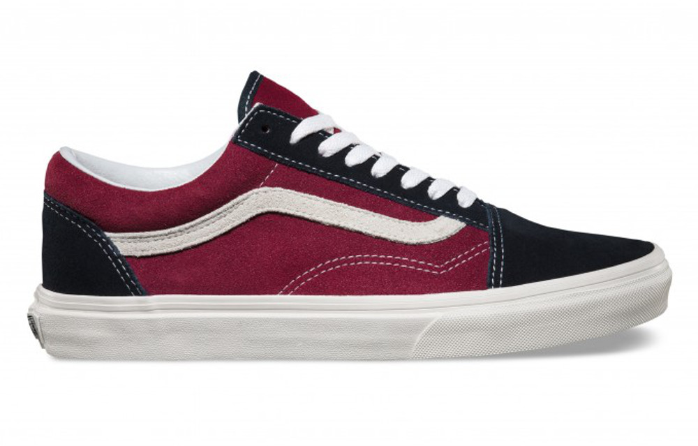 vans skool bordeaux