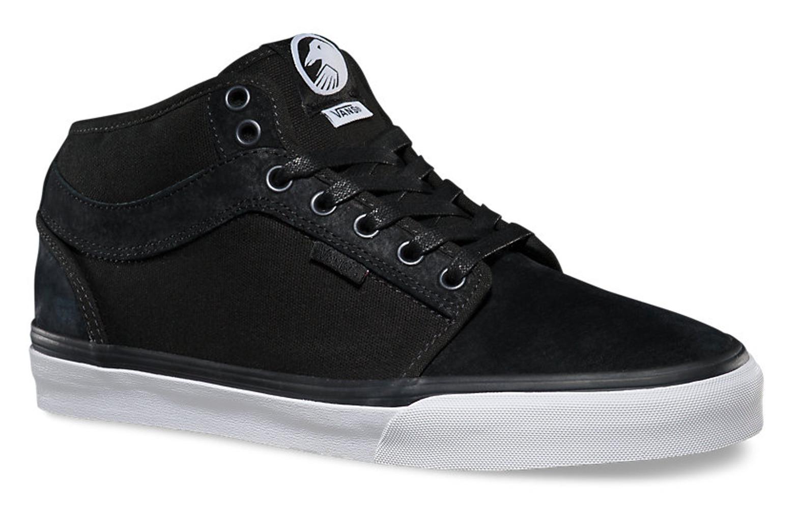 Chaussures Midtop Noir Vans Bmx Chukka Shadow ZrFZP