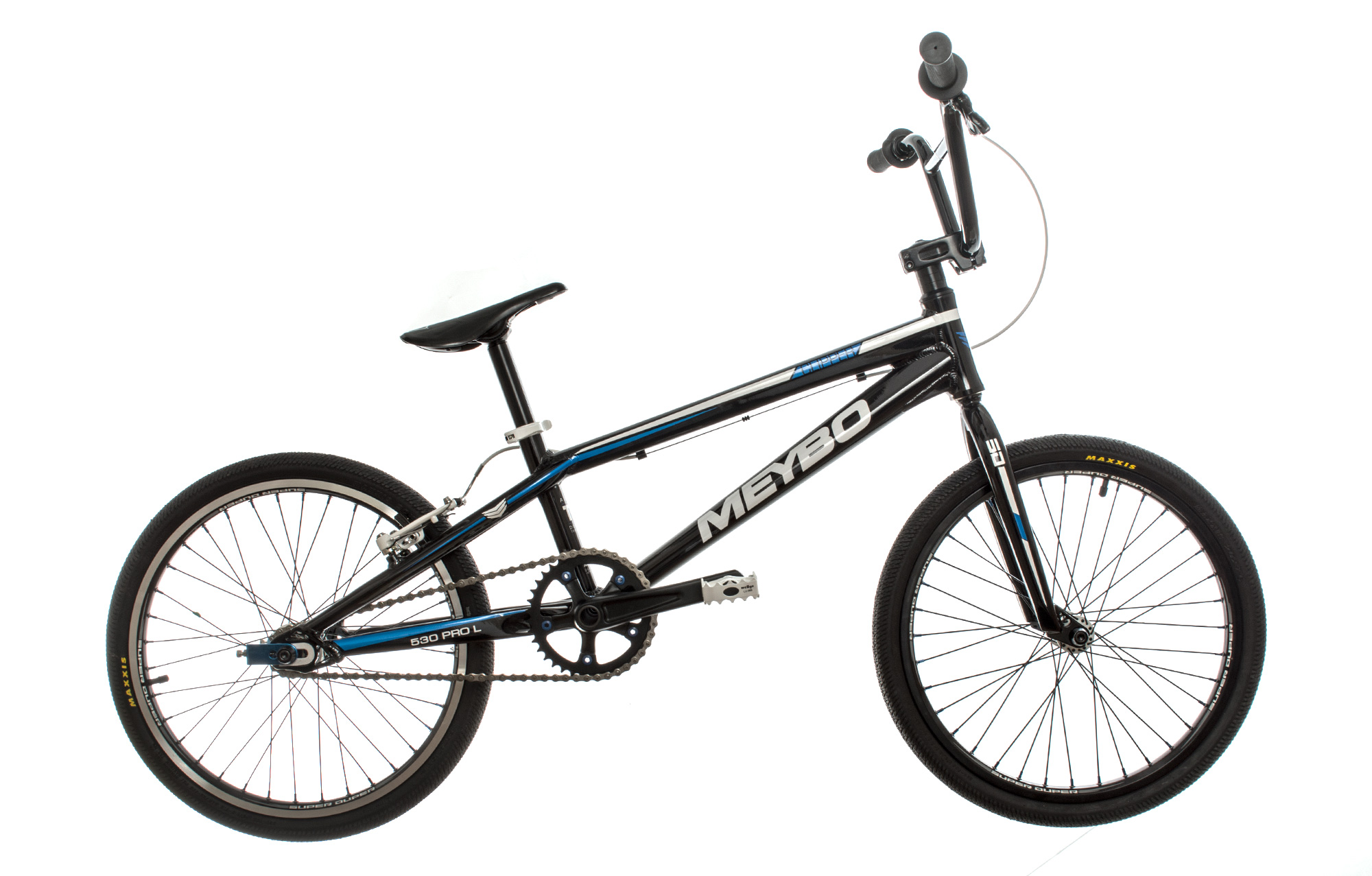 meybo clipper bmx bike pro l black. Black Bedroom Furniture Sets. Home Design Ideas