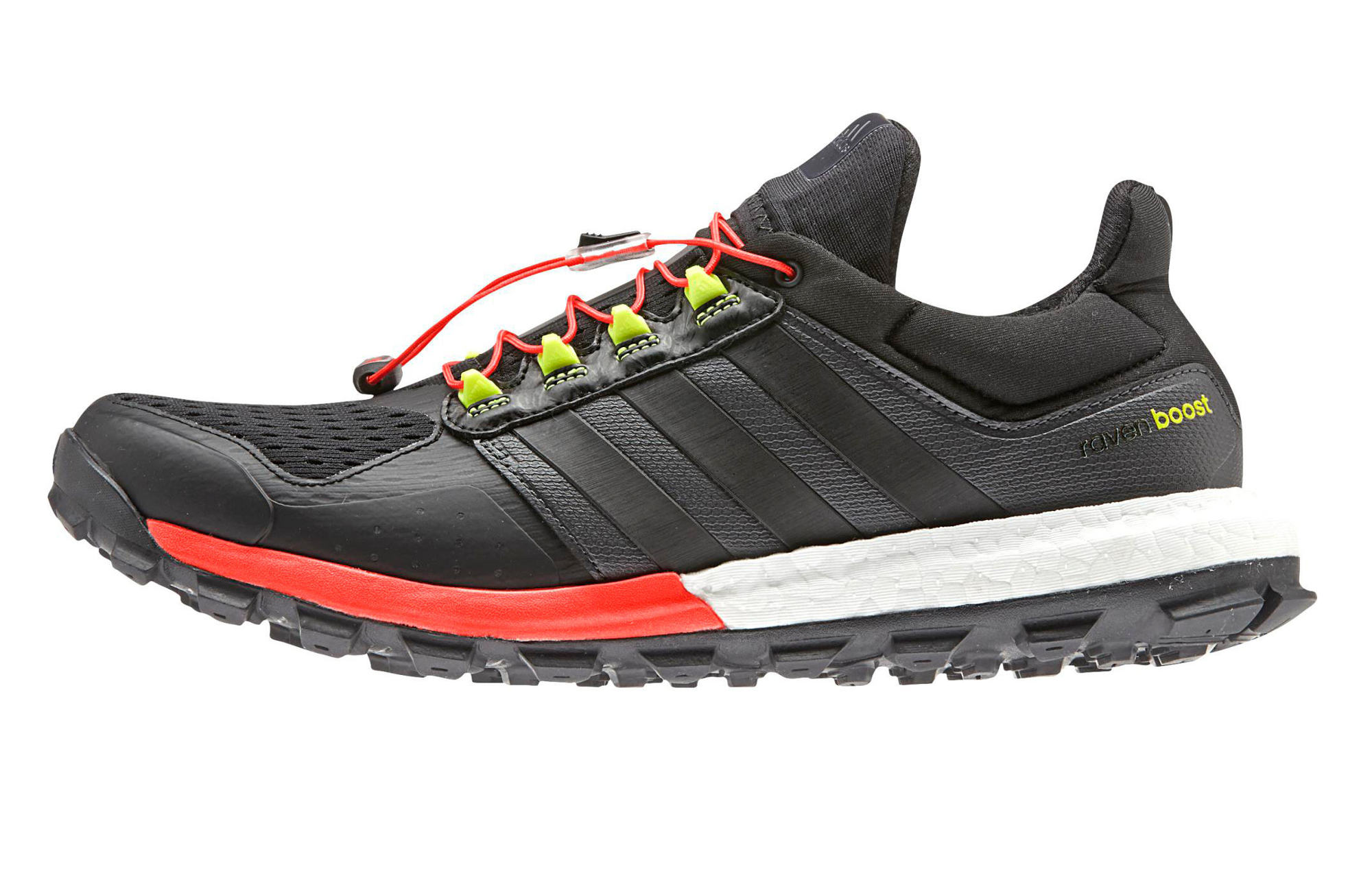 chaussures de trail adidas running adistar raven boost trail noir. Black Bedroom Furniture Sets. Home Design Ideas