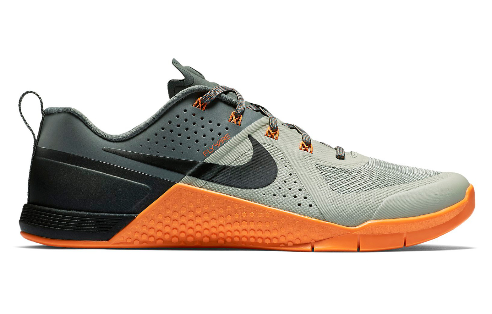 nike chaussures metcon 1 gris orange homme. Black Bedroom Furniture Sets. Home Design Ideas