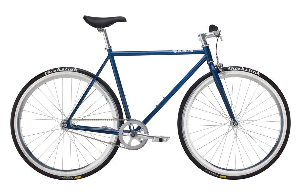 Complete Fixie Bike PURE FIX NOVEMBER Blue