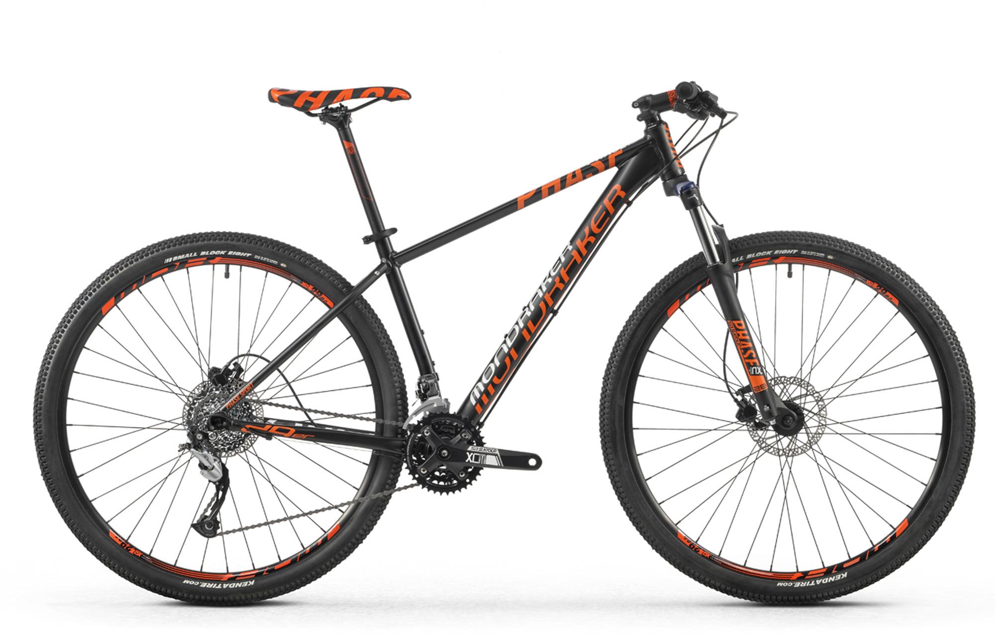 Bicicleta MONDRAKER PHASE SPORT 29\'\' 2016 Negro Naranja | Alltricks.es