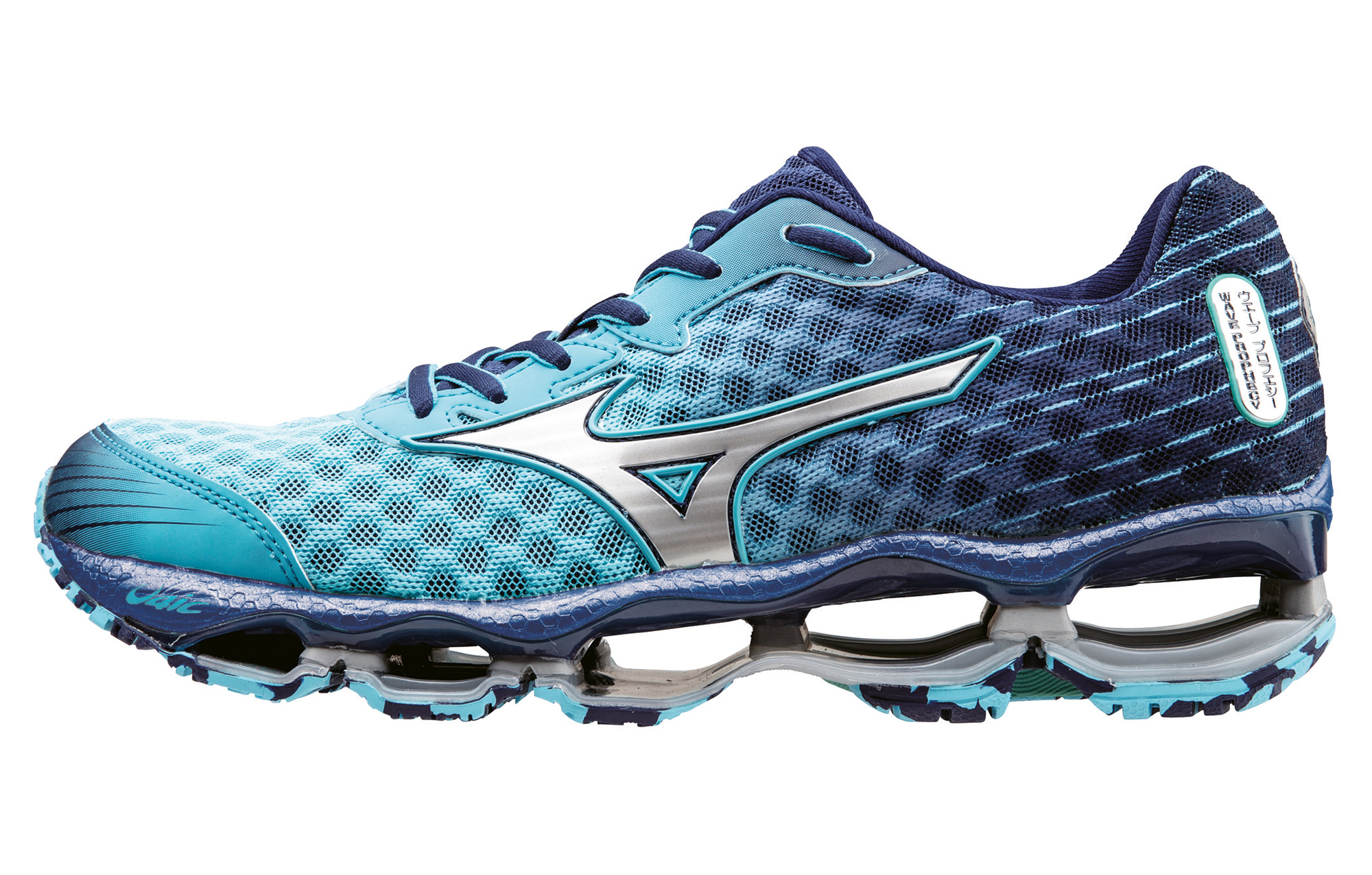buy popular 01022 65fc1 MIZUNO Shoes WAVE PROPHECY 4 Blue Women   Alltricks.com