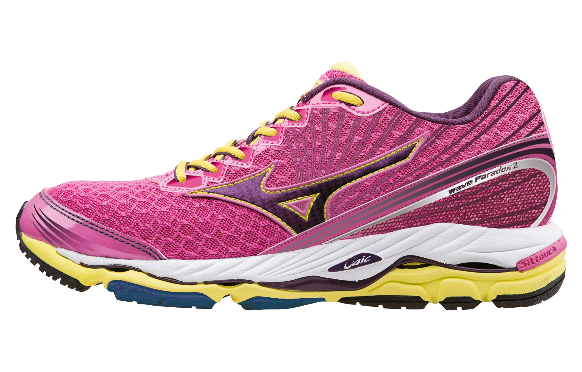 f81f6bd2f54f MIZUNO Shoes WAVE PARADOX 2 Pink Yellow Women | Alltricks.com