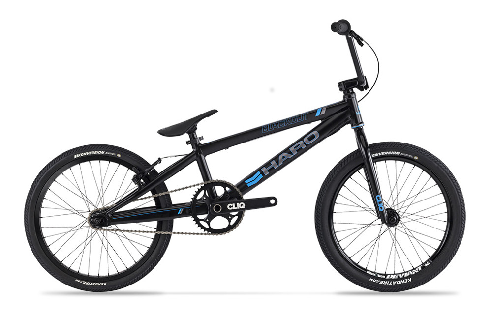 HARO BMX Complete Bike BLACKOUT Pro XL Black | Alltricks.com