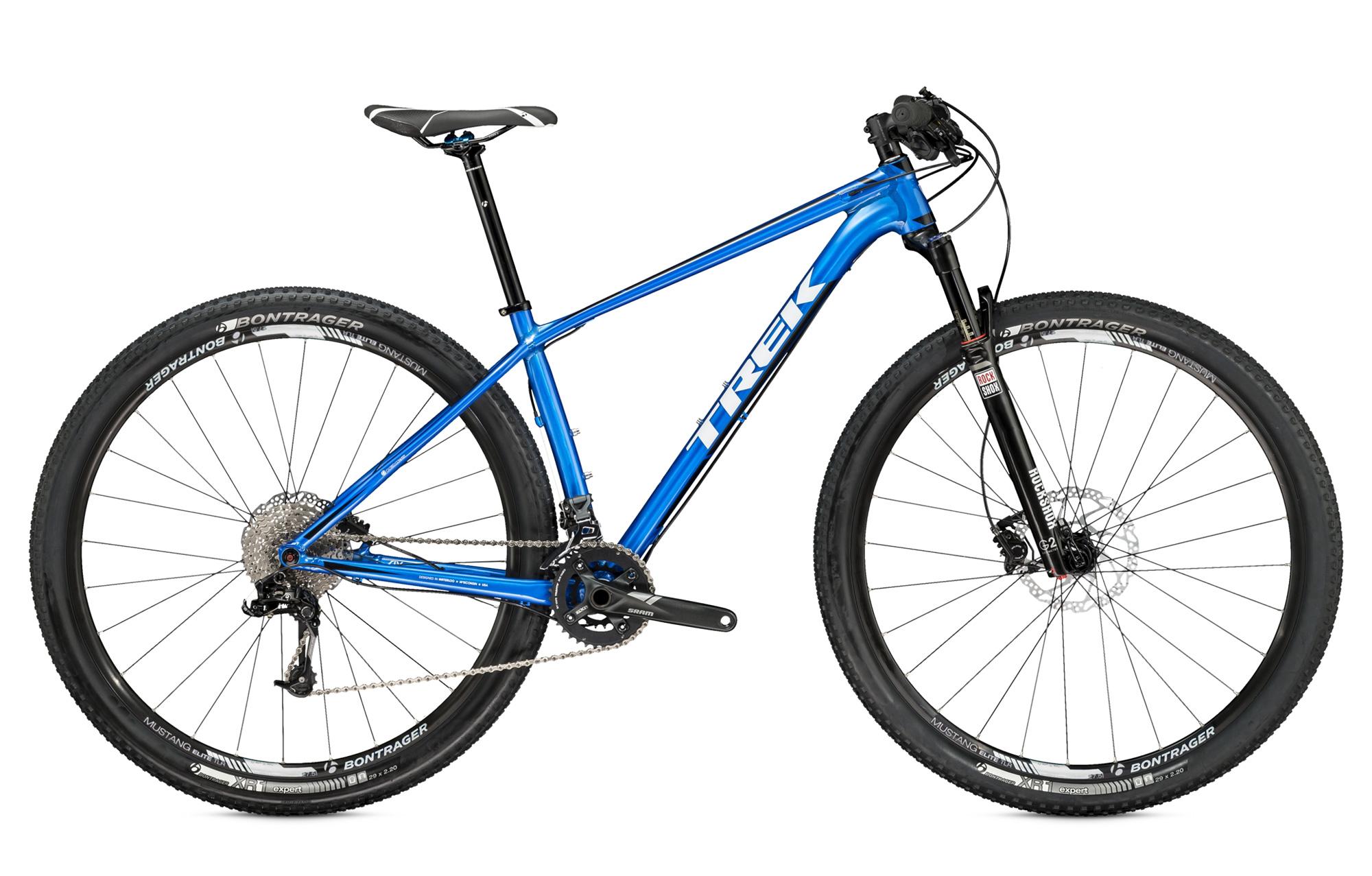 trek 2015 hardtail bike 29 superfly 6 blue. Black Bedroom Furniture Sets. Home Design Ideas