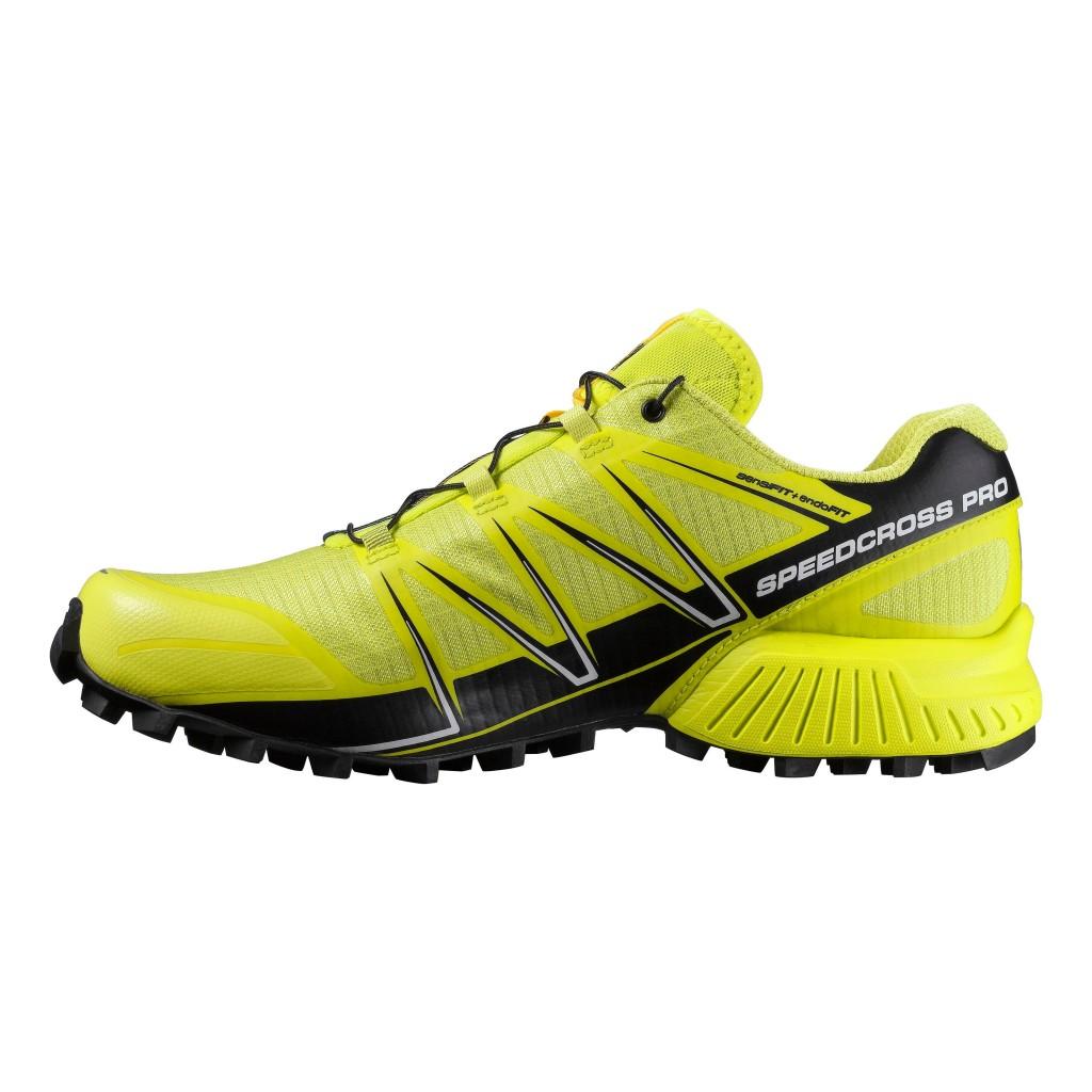 SALOMON Men's Trail Running Shoes SPEEDCROSS PRO Yellow