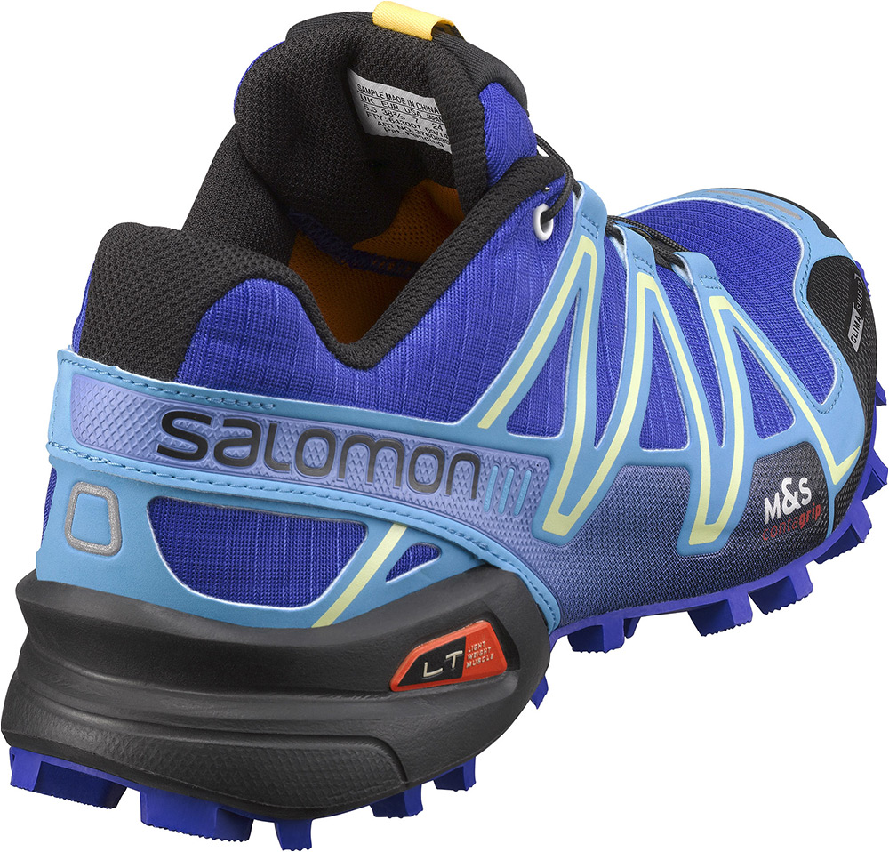 chaussures de trail femme salomon speedcross 3 cs bleu violet. Black Bedroom Furniture Sets. Home Design Ideas