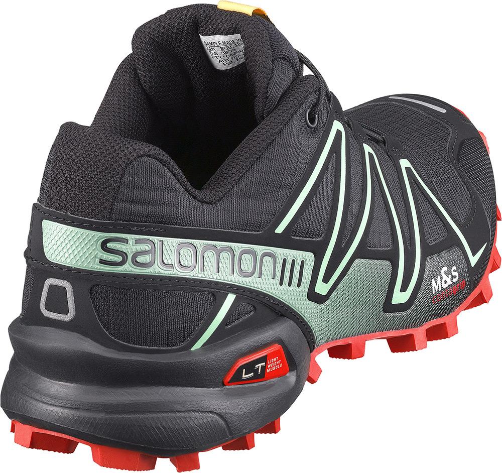 salomon speedcross 3 lady blackgreen trail running shoes
