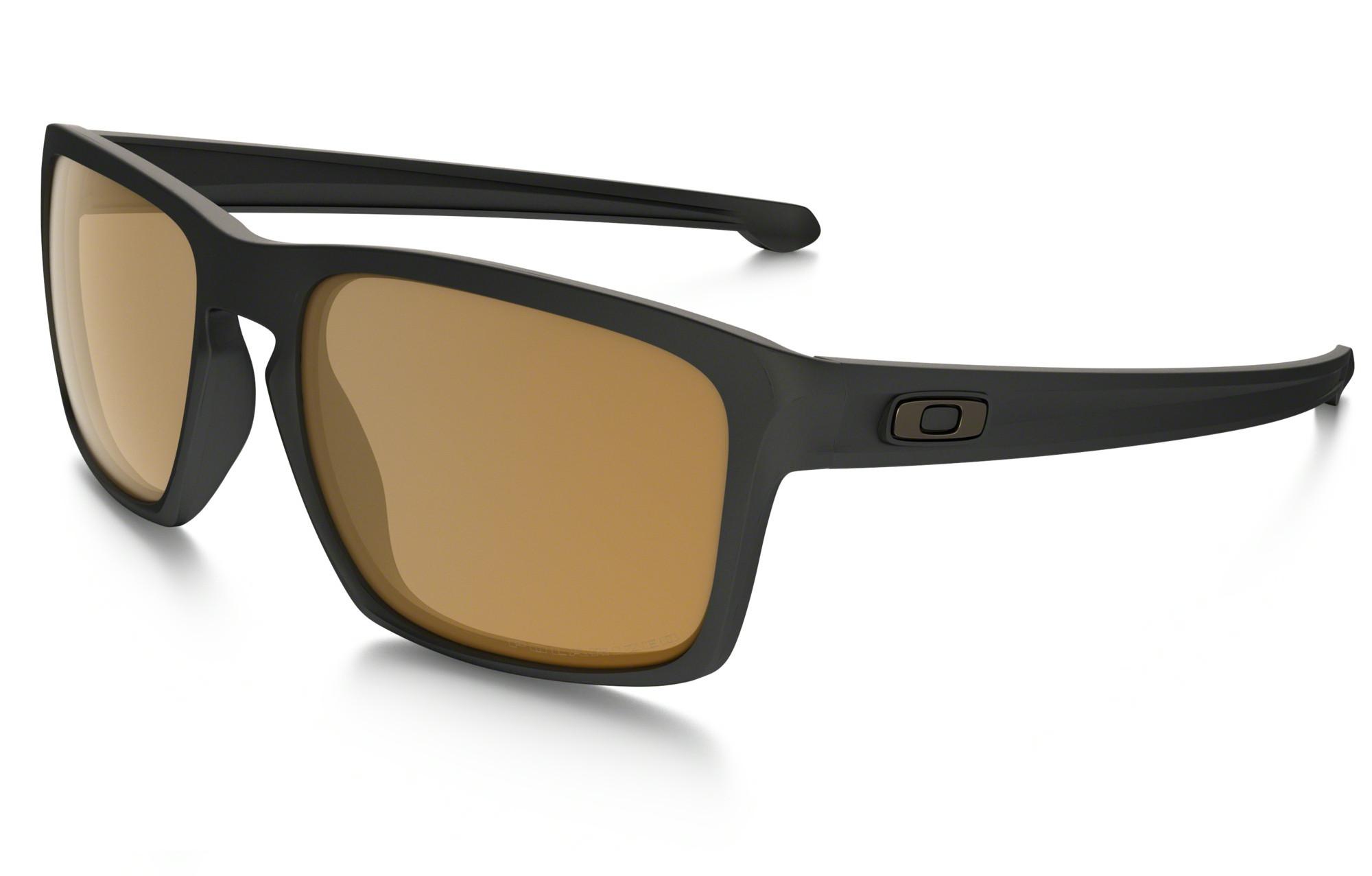 ff89e8458d OAKLEY Sunglasses SLIVER Matte Black Bronze Polarized Ref oo9262-08 ...