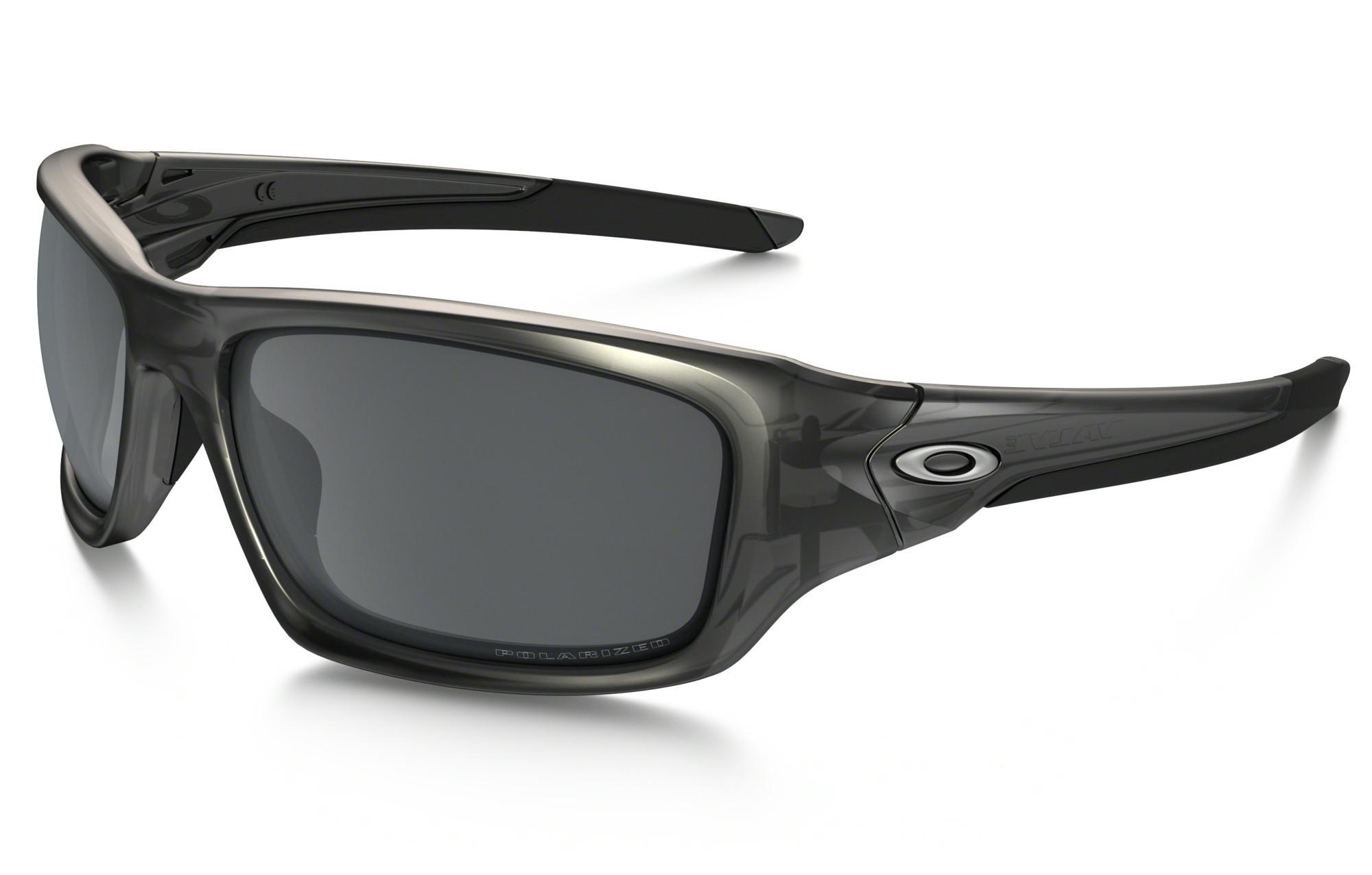 3081109633 OAKLEY Sunglasses VALVE Matte Grey Smoke Black Iridium Polarized Ref  OO9236-06