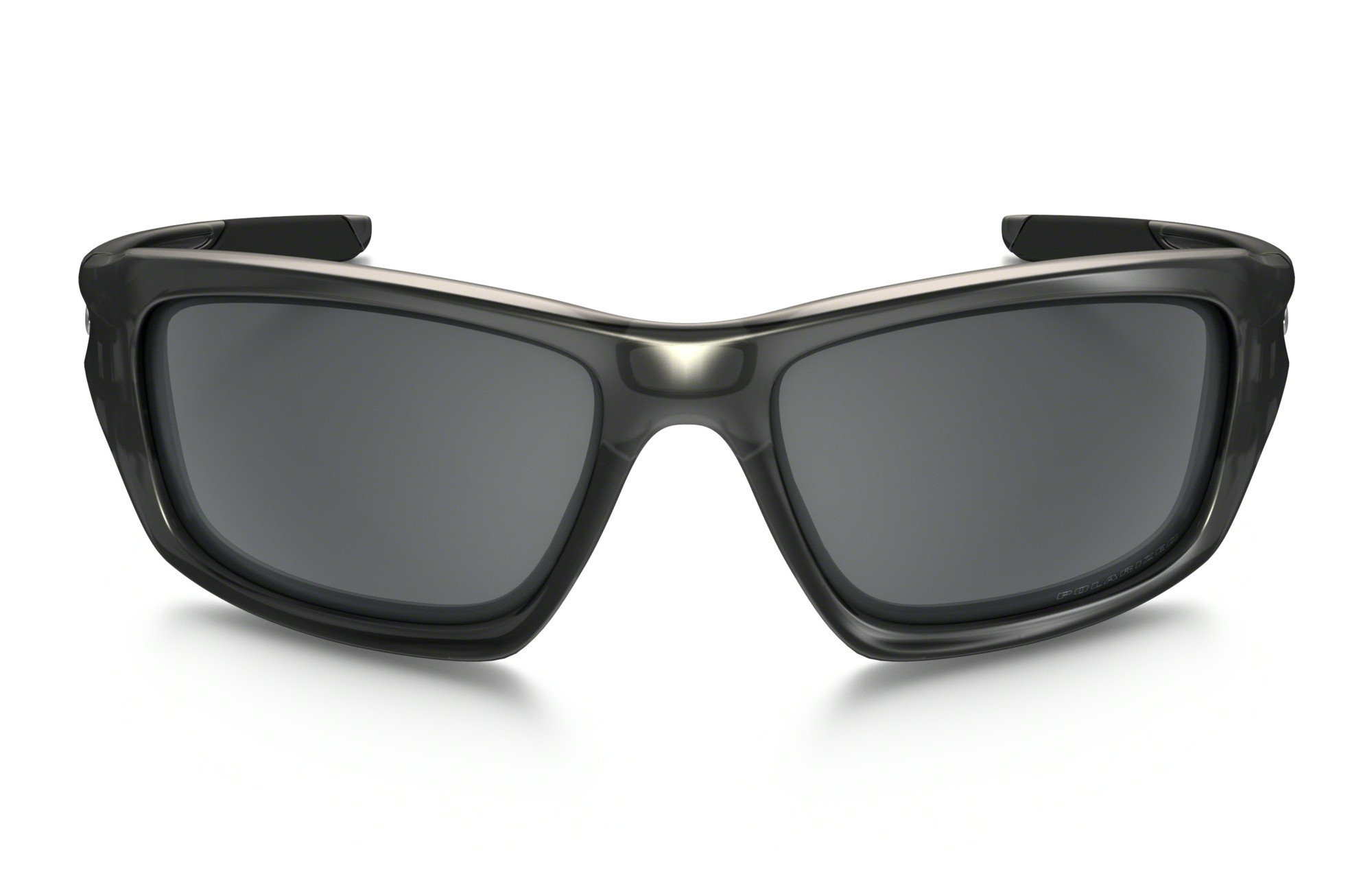 5d62631f2a4c70 OAKLEY Sunglasses VALVE Matte Grey Smoke Black Iridium Polarized Ref  OO9236-06