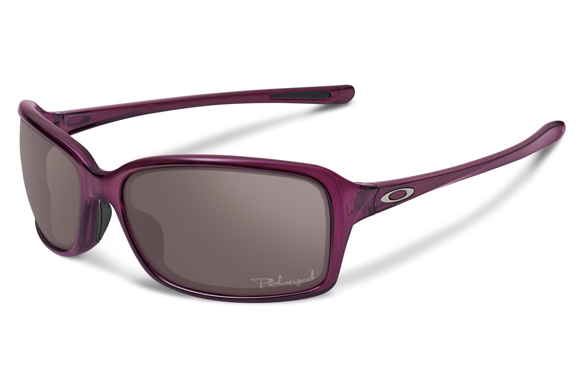 c09bfa8531 OAKLEY Woman Sunglasses DISPUTE Crystal Raspberry Grey Polarized Ref OO9233- 04