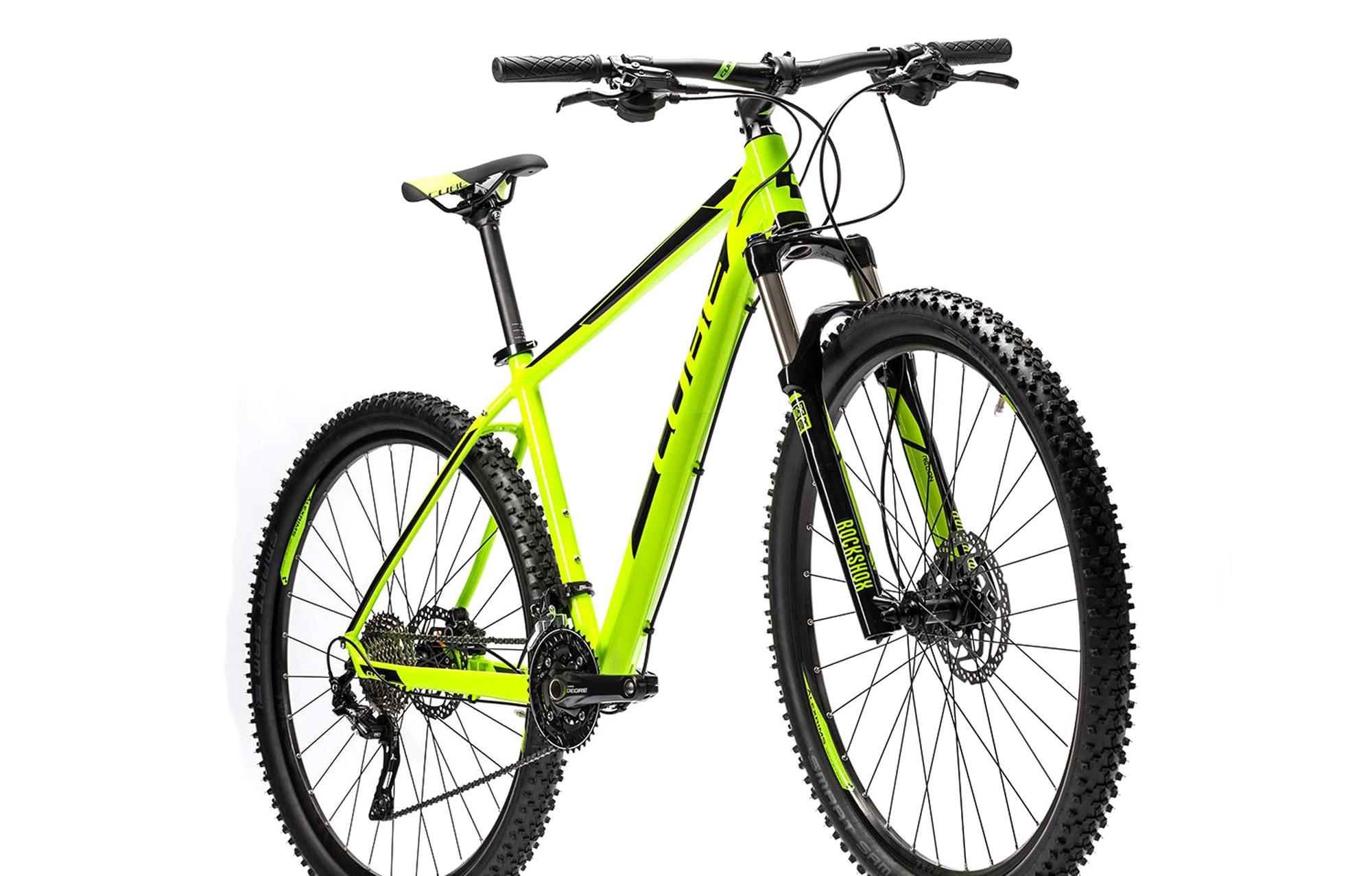 CUBE 2016 Hardtail Bike ATTENTION SL 27.5'' Green Black | Alltricks.com