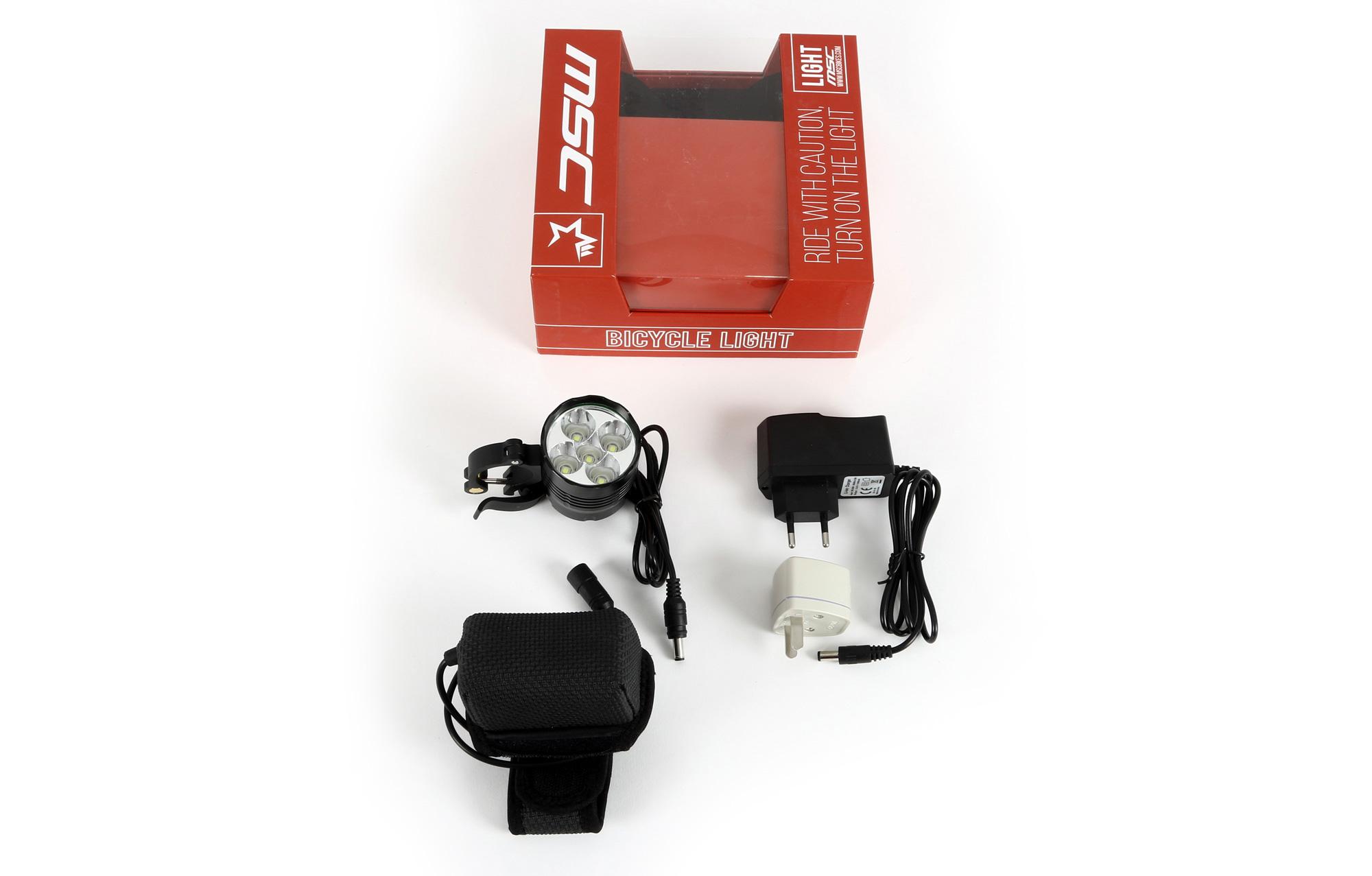 MSC BIKES Bicycle light 3000 Lumens