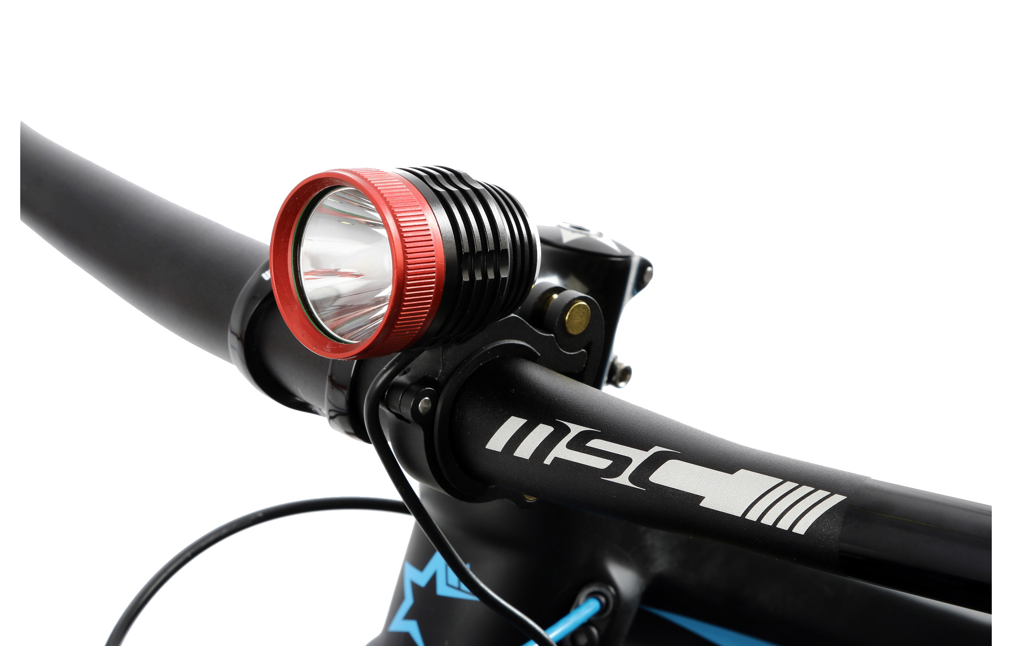 MSC BIKES Bicycle light 1000 Lumens Black