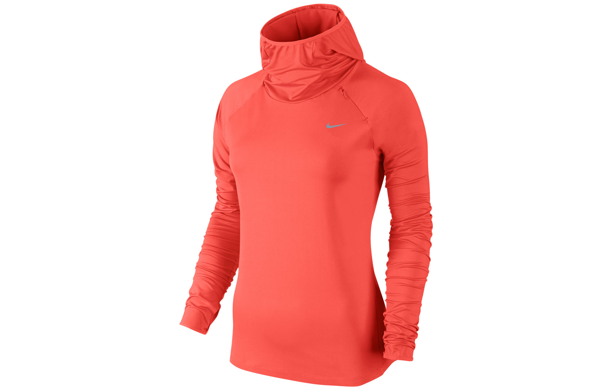 89827a8ac32a6 NIKE Sweat à capuche ELEMENT Orange Femme   Alltricks.fr