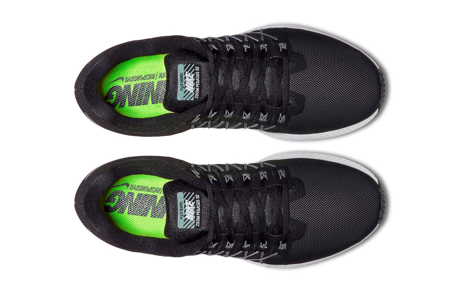 quality design c0b67 b28a3 Zapatillas Nike AIR ZOOM PEGASUS 32 FLASH para Hombre Negro