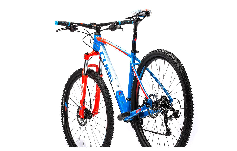 cube 2016 hardtail bike 29 39 39 aim pro blue red. Black Bedroom Furniture Sets. Home Design Ideas