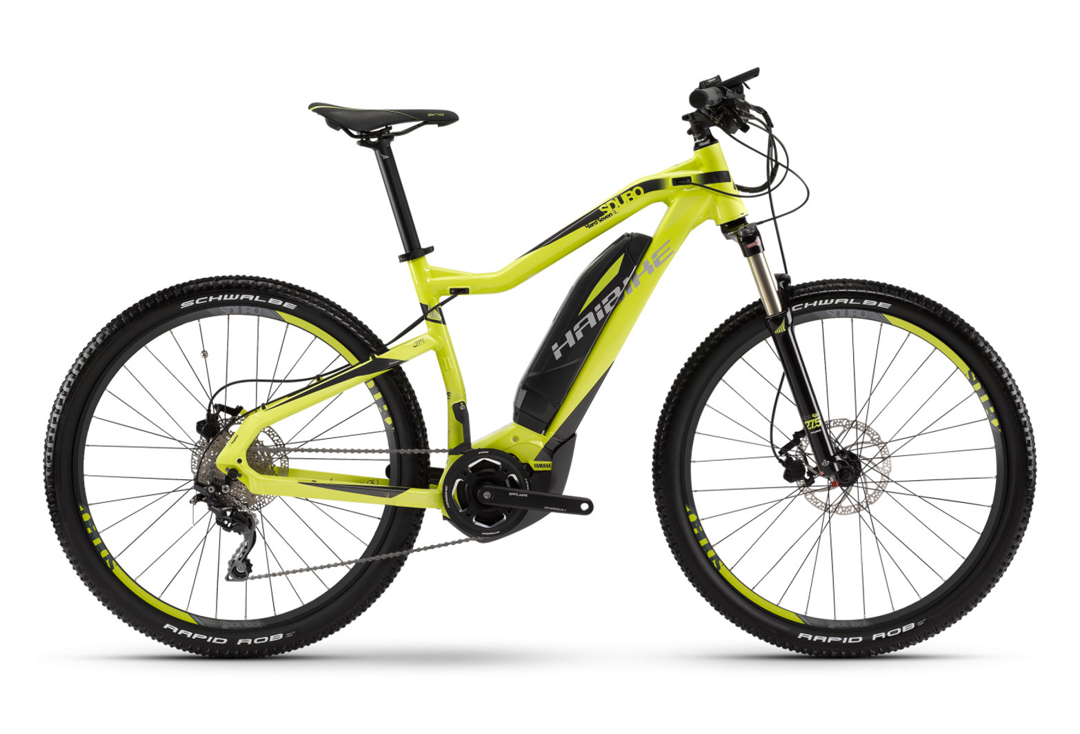 Electric Hardtail Haibike Sduro Hardseven SL 275 Fins