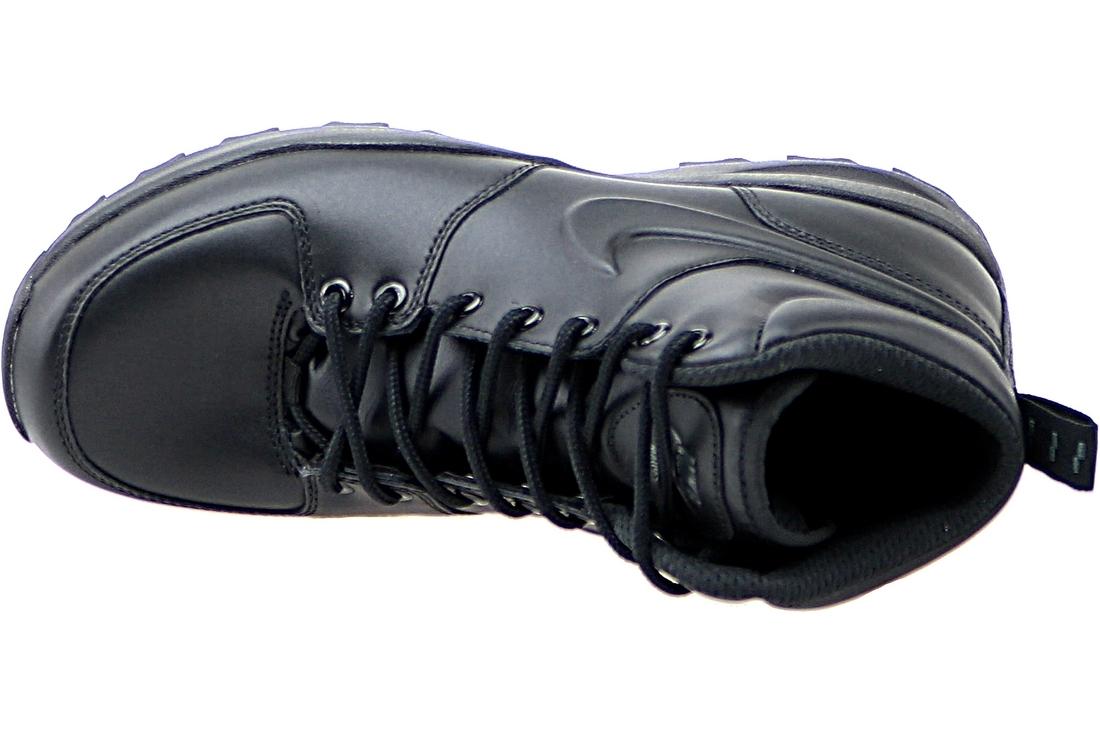 buy online 3f08b 383a8 Nike Manoa Lthr 454350-003 Homme Chaussures de randonnée Noir