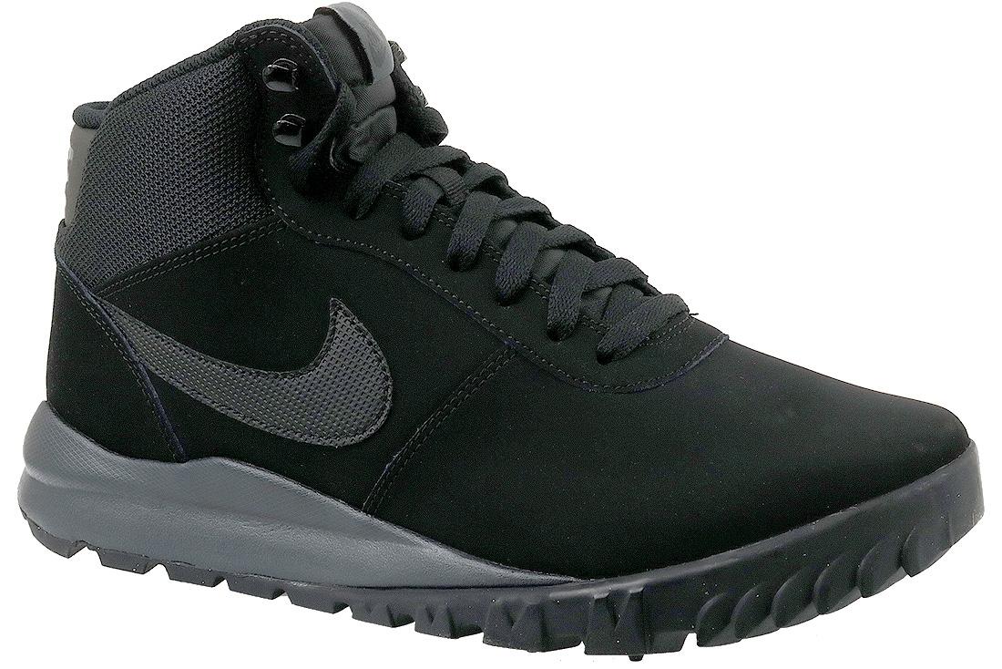 best supplier good quality retail prices Nike Hoodland 654888-090 Homme Chaussures de randonnée Noir