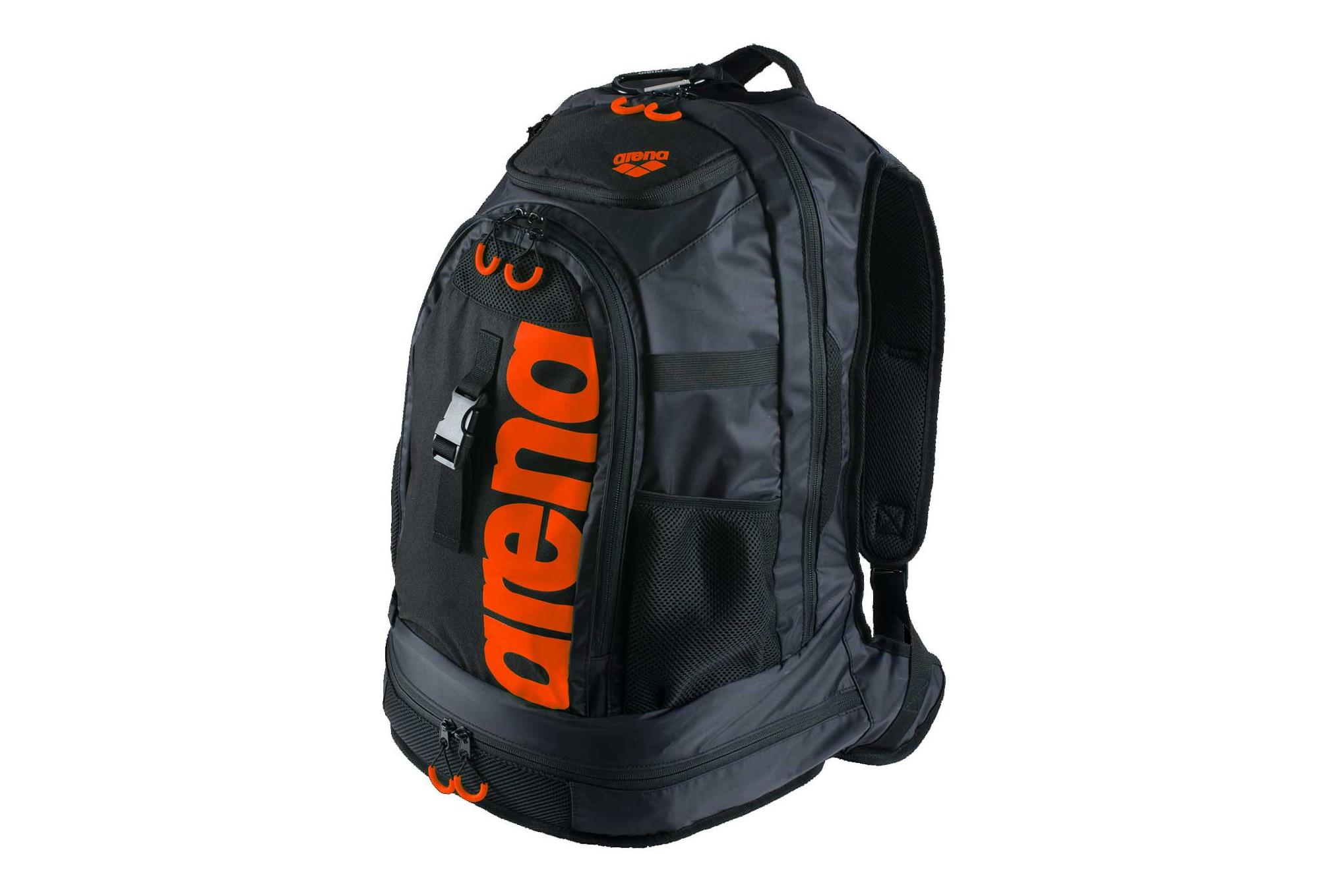 Arena sac dos fastpack 2 0 noir orange for Sac de piscine arena
