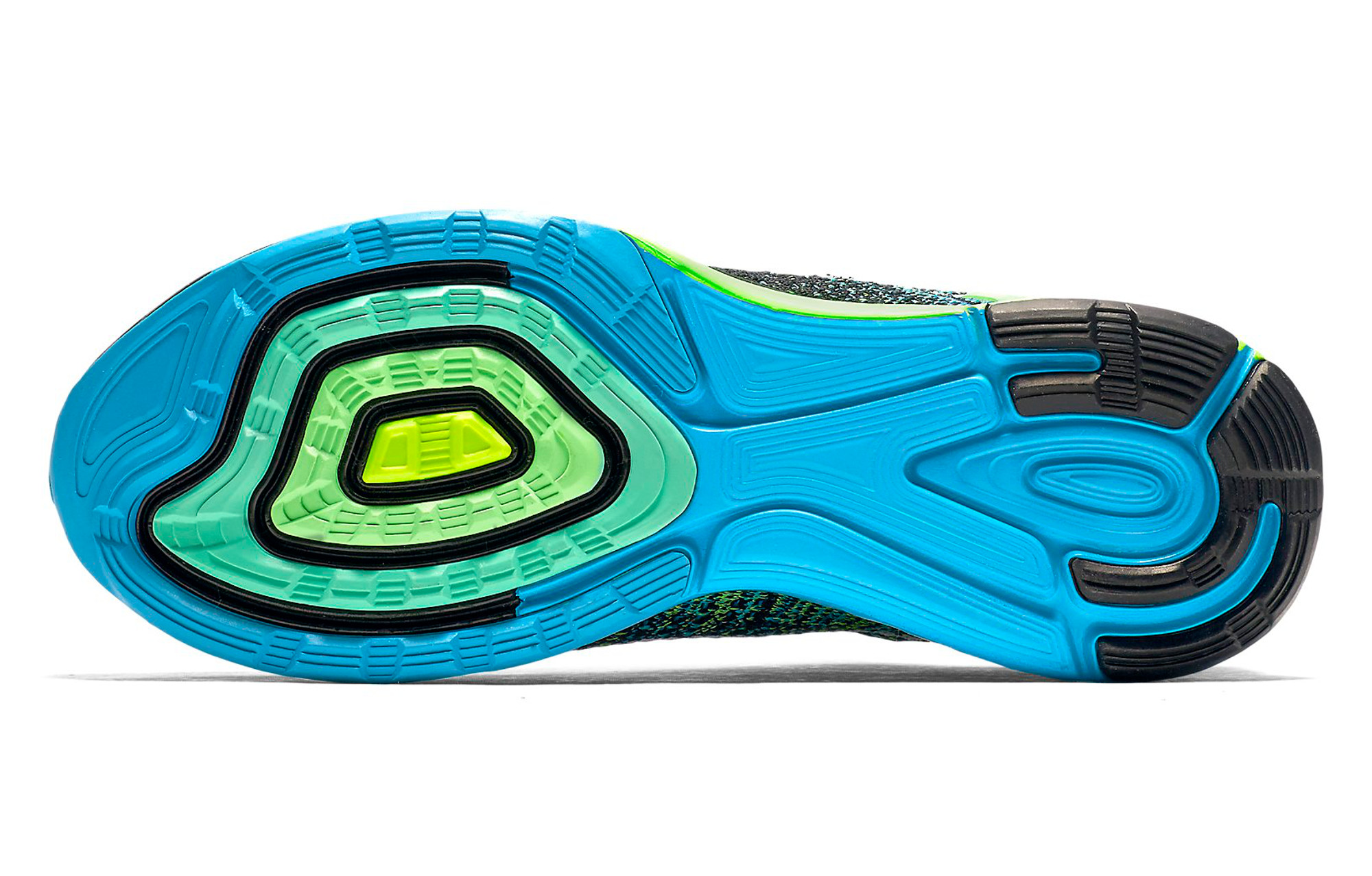 9e10a062a7eae NIKE Shoes LUNARGLIDE 7 Blue Black Green Men