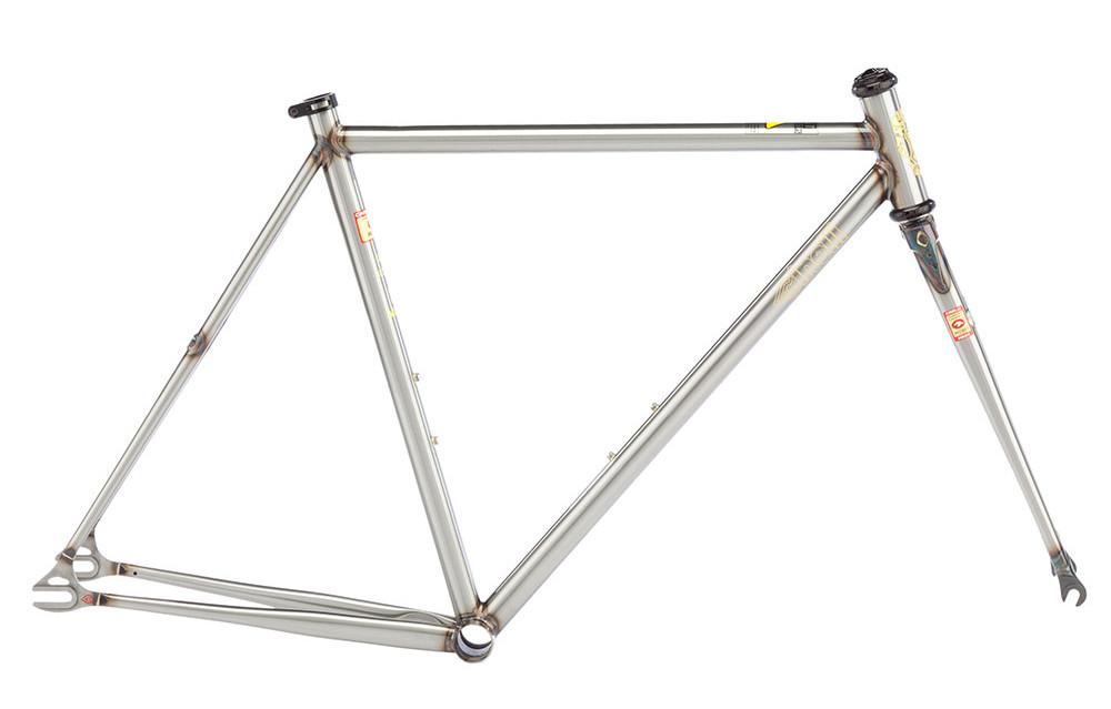 CINELLI MASH WORK Frame Kit Raw clear coated   Alltricks.com