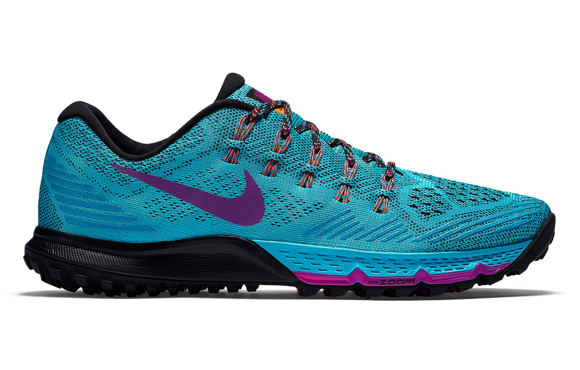 NIKE Shoes ZOOM TERRA Kiger 3 Blue Purple Women