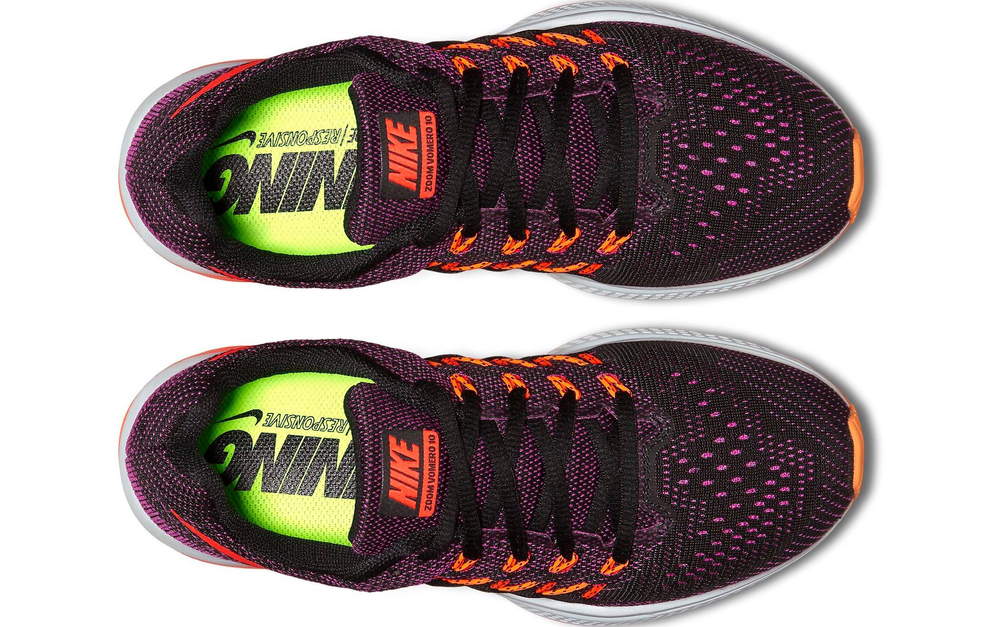 new products 780c7 4b241 Chaussures de Running Femme Nike AIR ZOOM VOMERO 10 Violet   Noir   Orange