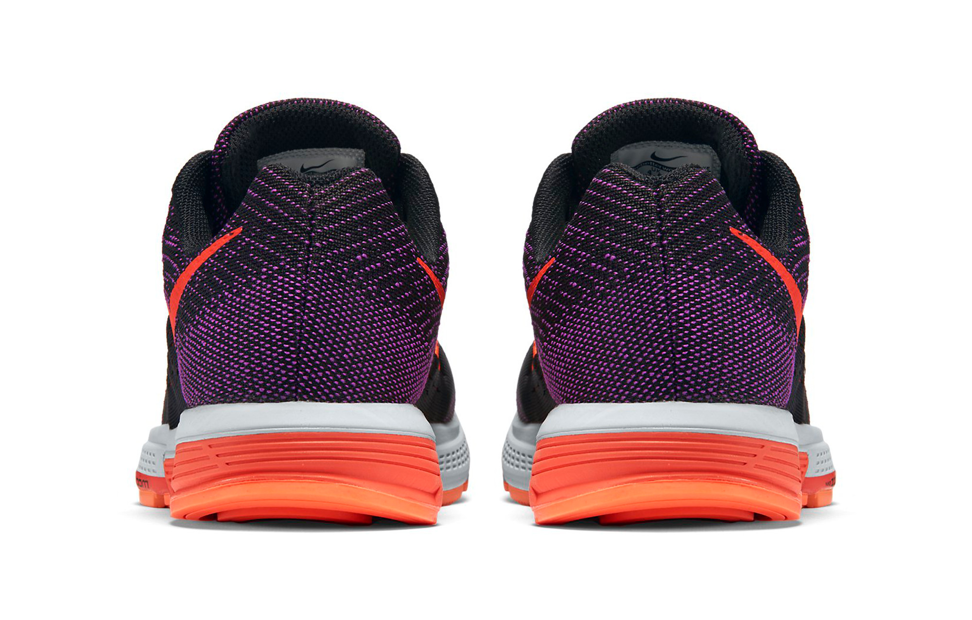 designer fashion afcdd 767b4 NIKE Shoes AIR ZOOM VOMERO 10 Black Orange Purple Women